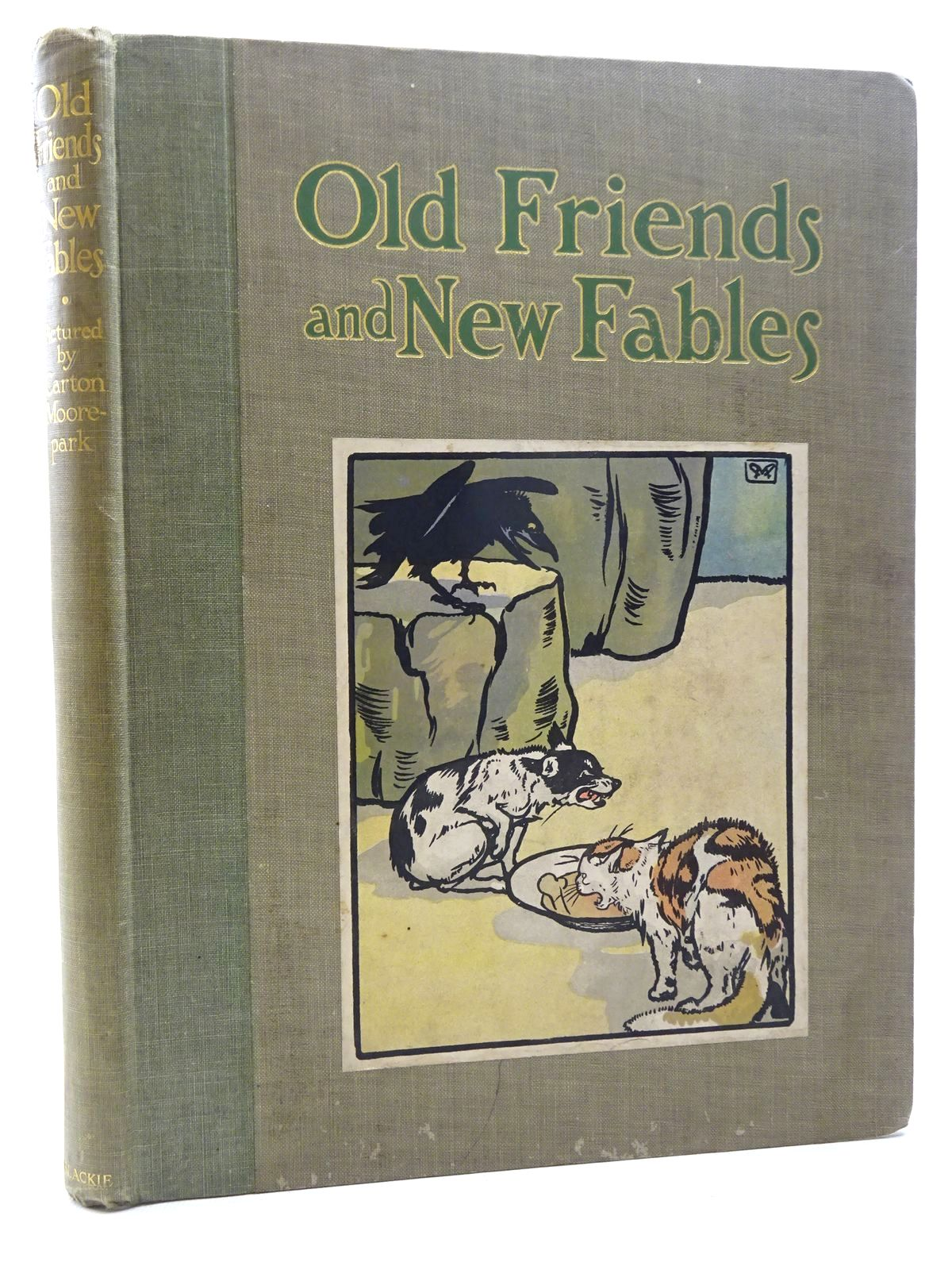 Photo of OLD FRIENDS AND NEW FABLES written by Morris, Alice Talwin illustrated by Moorepark, Carton published by Blackie & Son Ltd. (STOCK CODE: 2124950)  for sale by Stella & Rose's Books