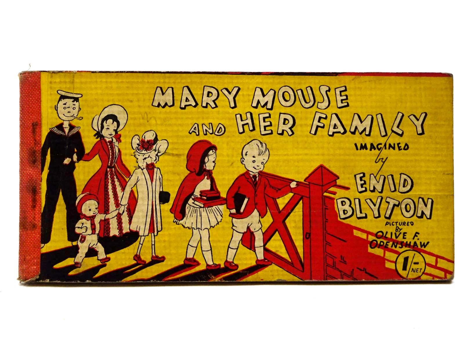 Photo of MARY MOUSE AND HER FAMILY written by Blyton, Enid illustrated by Openshaw, Olive F. published by Brockhampton Press Ltd. (STOCK CODE: 2124982)  for sale by Stella & Rose's Books