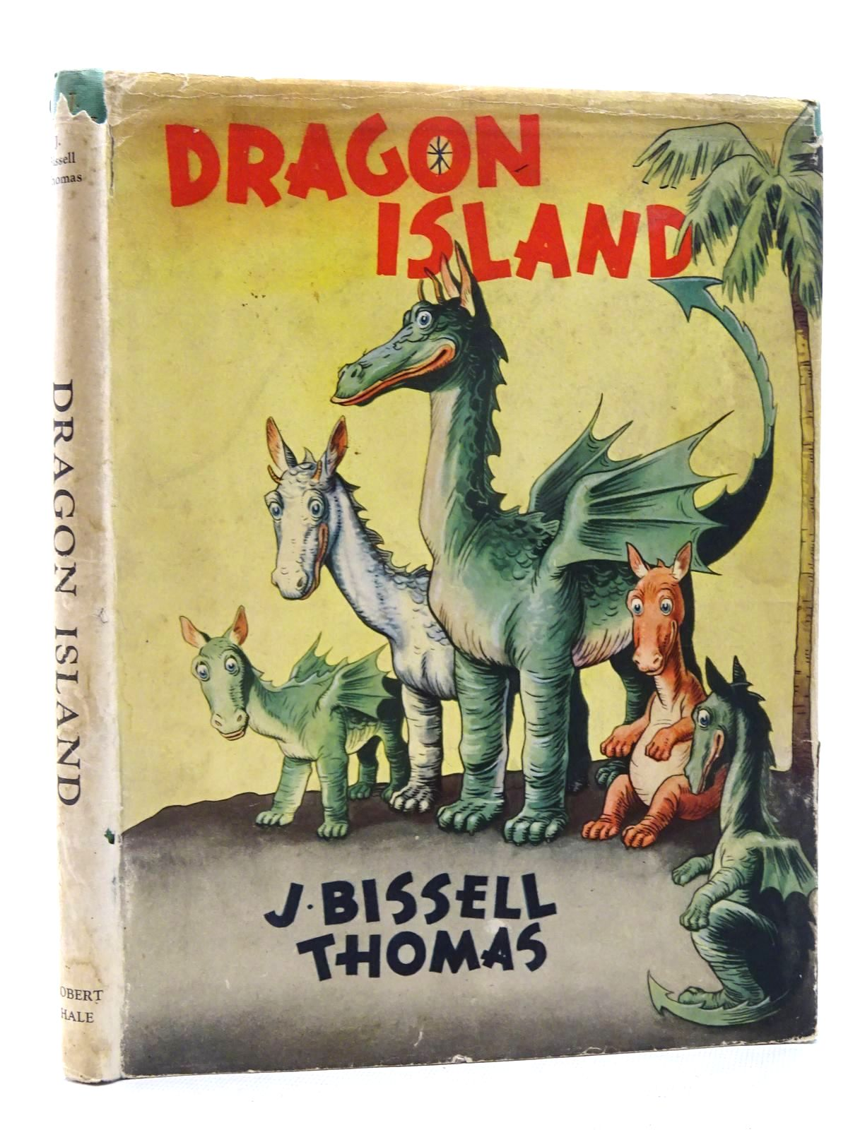 Photo of DRAGON ISLAND written by Thomas, J. Bissell illustrated by Soper, Vernon L. published by Robert Hale Limited (STOCK CODE: 2124991)  for sale by Stella & Rose's Books