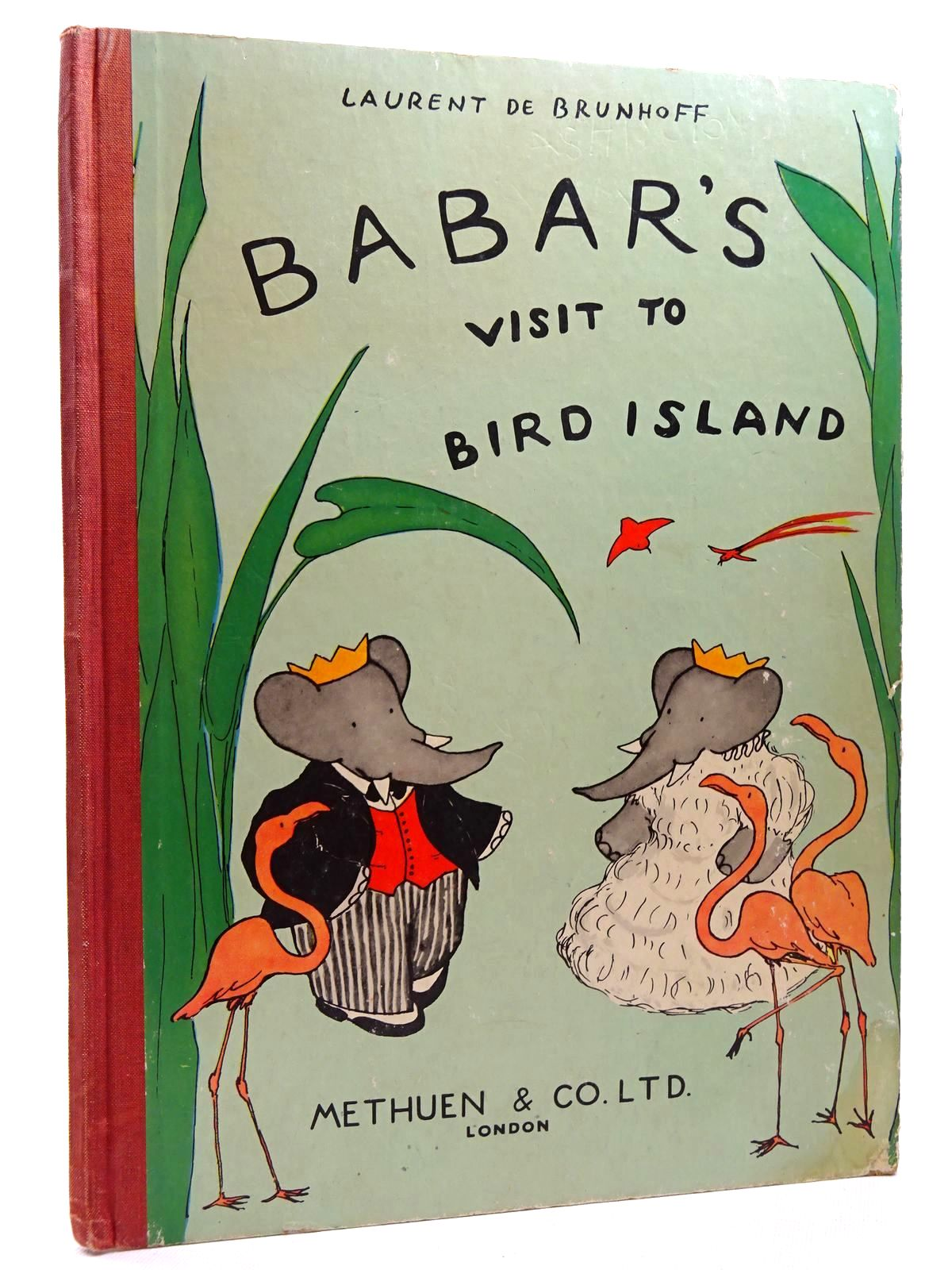 Photo of BABAR'S VISIT TO BIRD ISLAND written by De Brunhoff, Laurent illustrated by De Brunhoff, Laurent published by Methuen & Co. Ltd. (STOCK CODE: 2125002)  for sale by Stella & Rose's Books