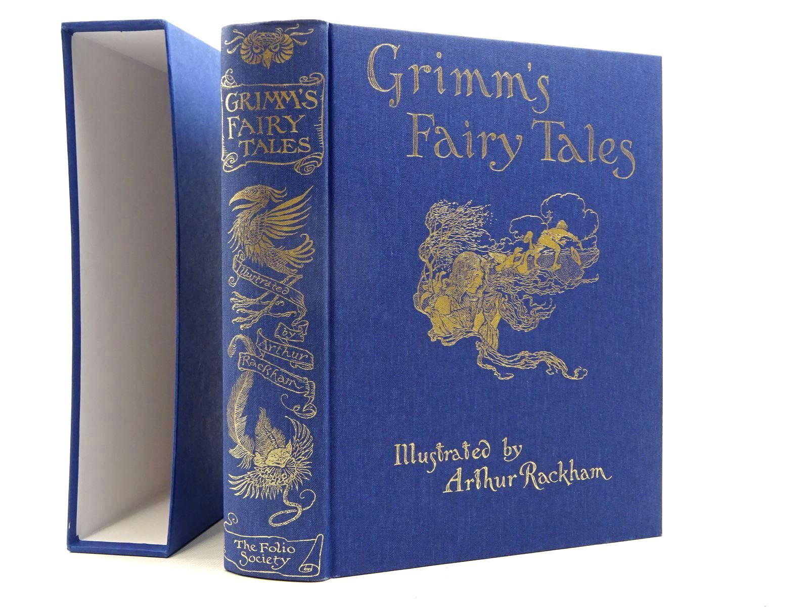 Photo of GRIMM'S FAIRY TALES written by Grimm, Brothers illustrated by Rackham, Arthur published by Folio Society (STOCK CODE: 2125023)  for sale by Stella & Rose's Books
