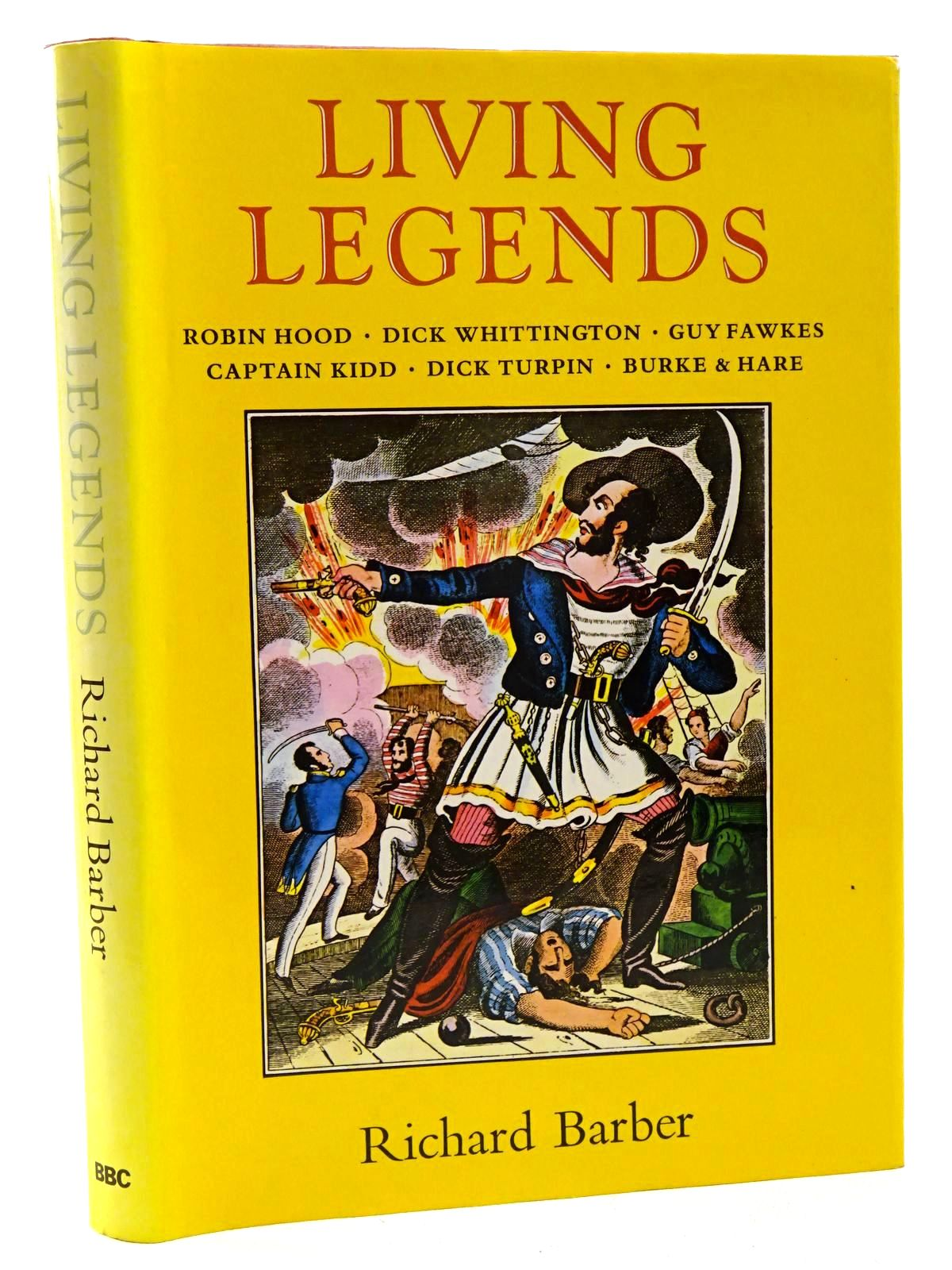 Photo of LIVING LEGENDS written by Barber, Richard published by British Broadcasting Corporation (STOCK CODE: 2125028)  for sale by Stella & Rose's Books