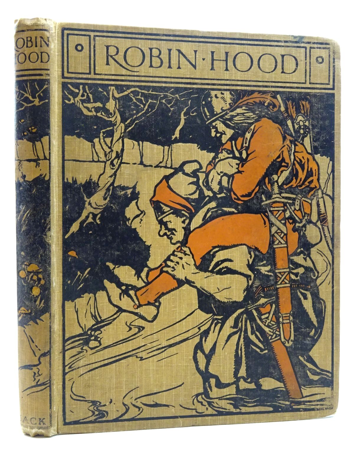 Photo of ROBIN HOOD: HIS DEEDS AND ADVENTURES AS RECOUNTED IN THE OLD ENLISH BALLADS written by Perkins, Lucy Fitch illustrated by Perkins, Lucy Fitch published by T.C. & E.C. Jack (STOCK CODE: 2125036)  for sale by Stella & Rose's Books