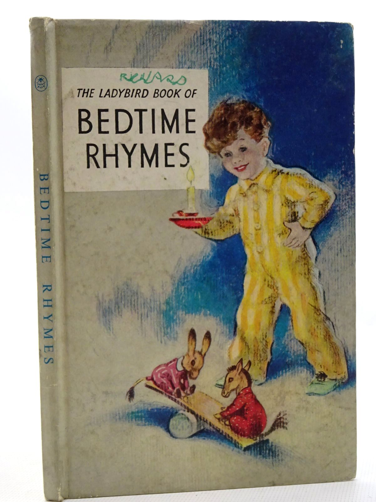 Photo of THE LADYBIRD BOOK OF BEDTIME RHYMES written by Lapage, Geoffrey illustrated by Brook, George published by Wills & Hepworth Ltd. (STOCK CODE: 2125039)  for sale by Stella & Rose's Books