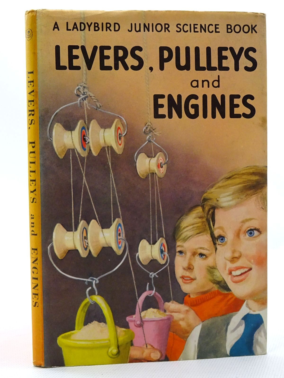 Photo of LEVERS, PULLEYS AND ENGINES written by Newing, F.E.<br />Bowood, Richard illustrated by Wingfield, J.H. published by Wills & Hepworth Ltd. (STOCK CODE: 2125045)  for sale by Stella & Rose's Books