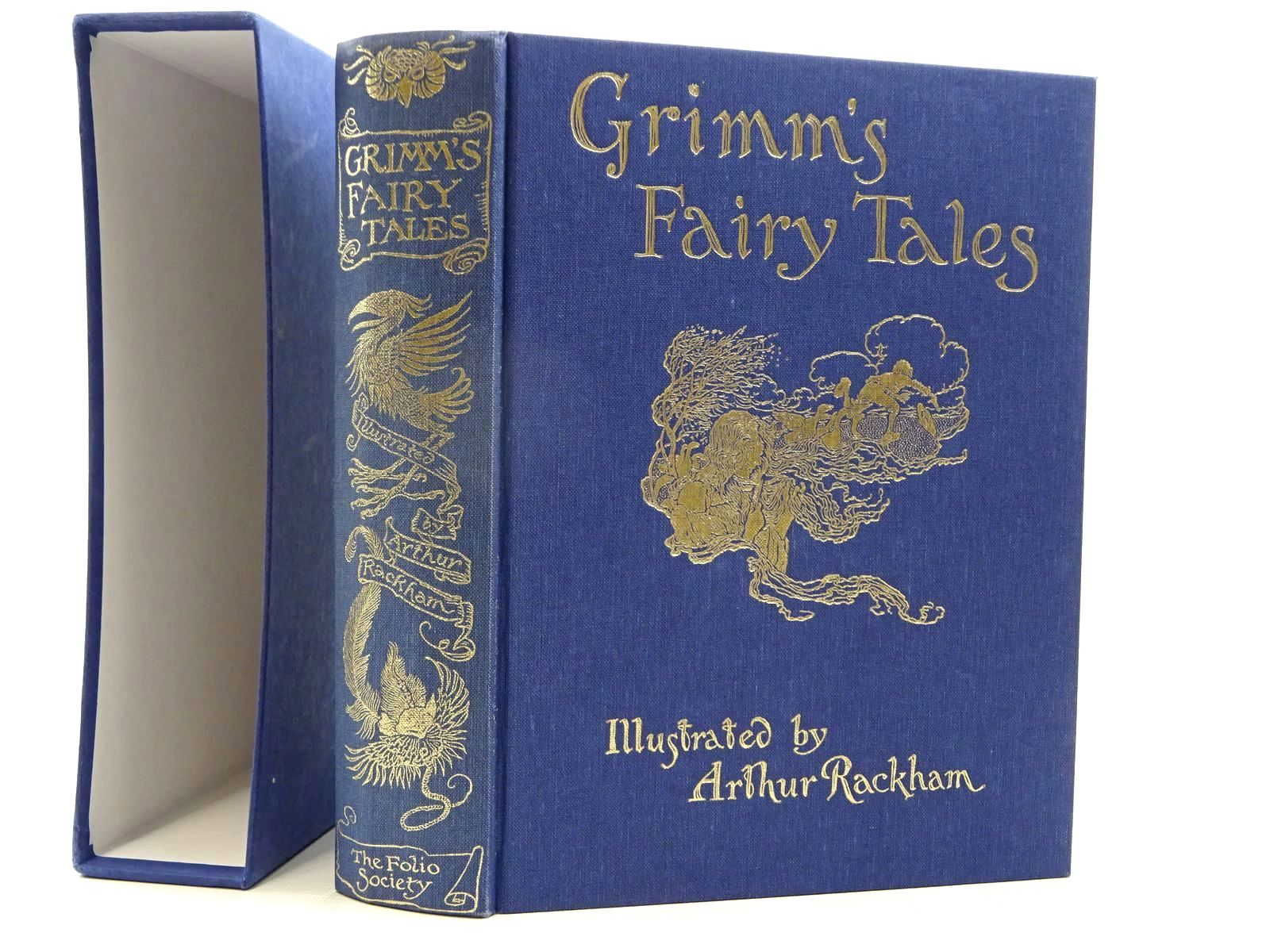 Photo of GRIMM'S FAIRY TALES written by Grimm, Brothers illustrated by Rackham, Arthur published by Folio Society (STOCK CODE: 2125065)  for sale by Stella & Rose's Books