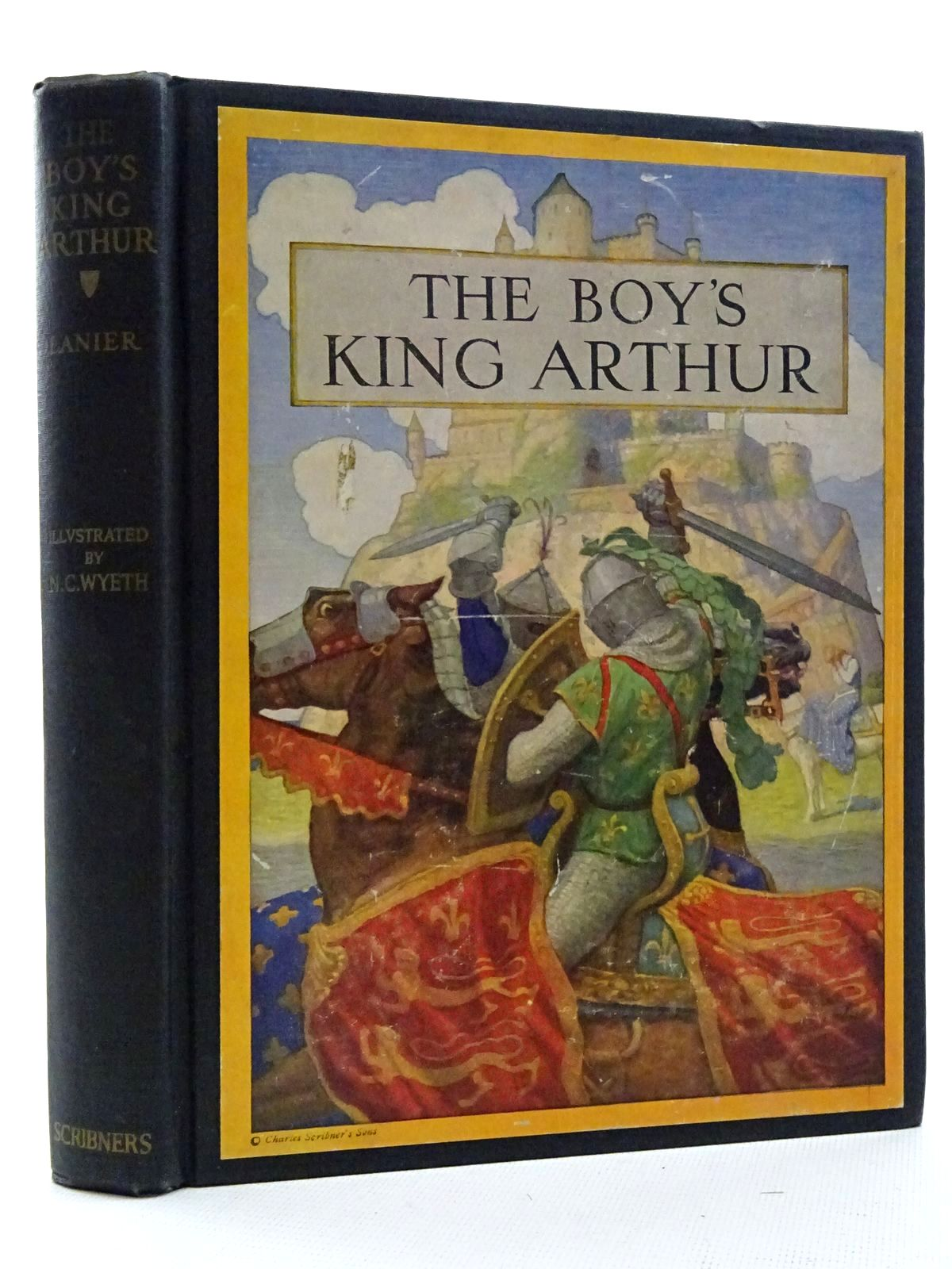 Photo of THE BOY'S KING ARTHUR written by Lanier, Sidney illustrated by Wyeth, N.C. published by Charles Scribner's Sons (STOCK CODE: 2125092)  for sale by Stella & Rose's Books