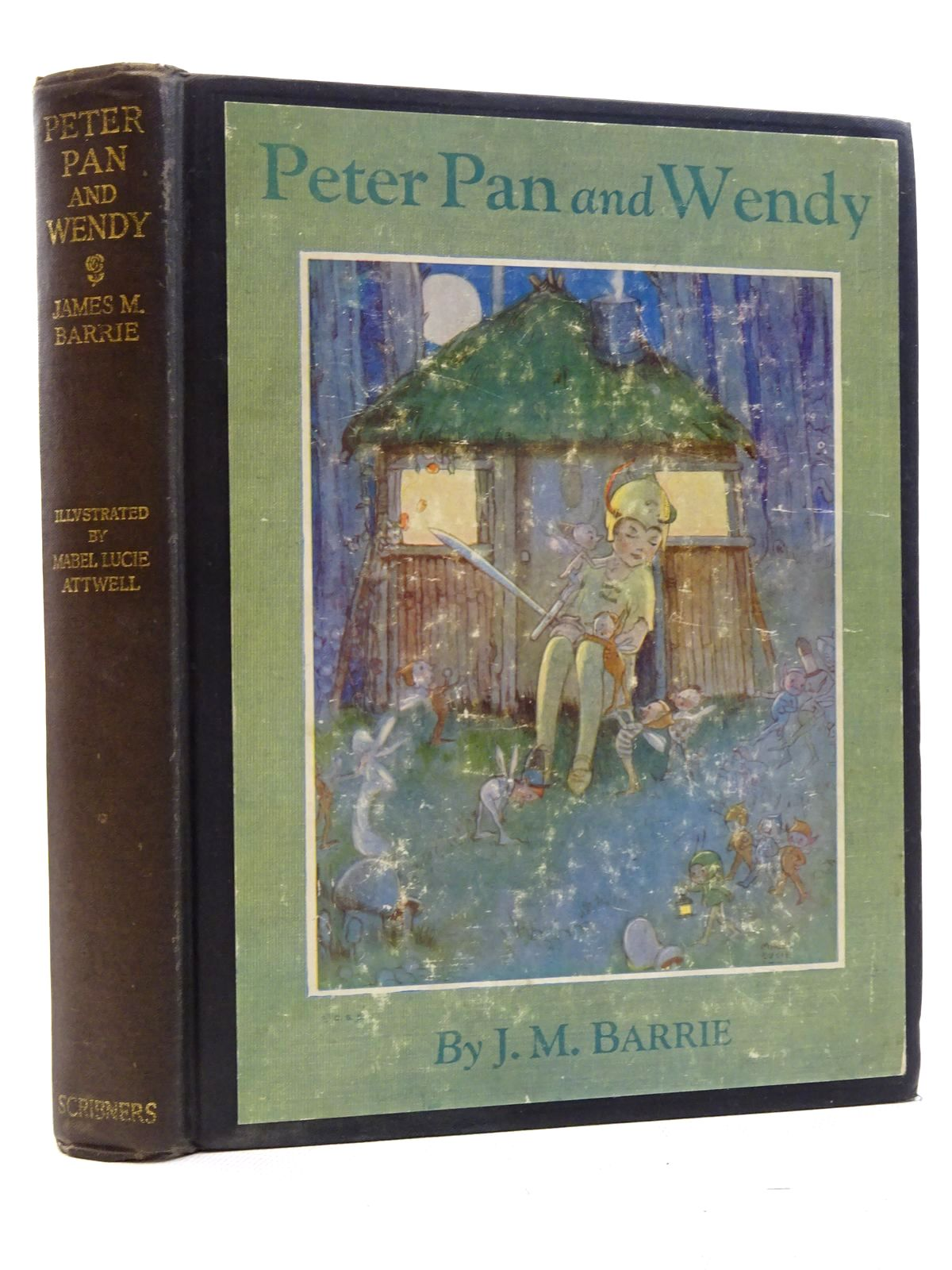 Photo of PETER PAN AND WENDY written by Barrie, J.M. illustrated by Attwell, Mabel Lucie published by Charles Scribner's Sons (STOCK CODE: 2125093)  for sale by Stella & Rose's Books