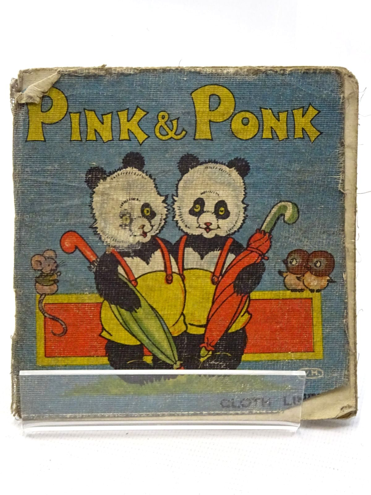 Photo of PINK & PONK published by R.A. Publishing Co. Ltd. (STOCK CODE: 2125125)  for sale by Stella & Rose's Books