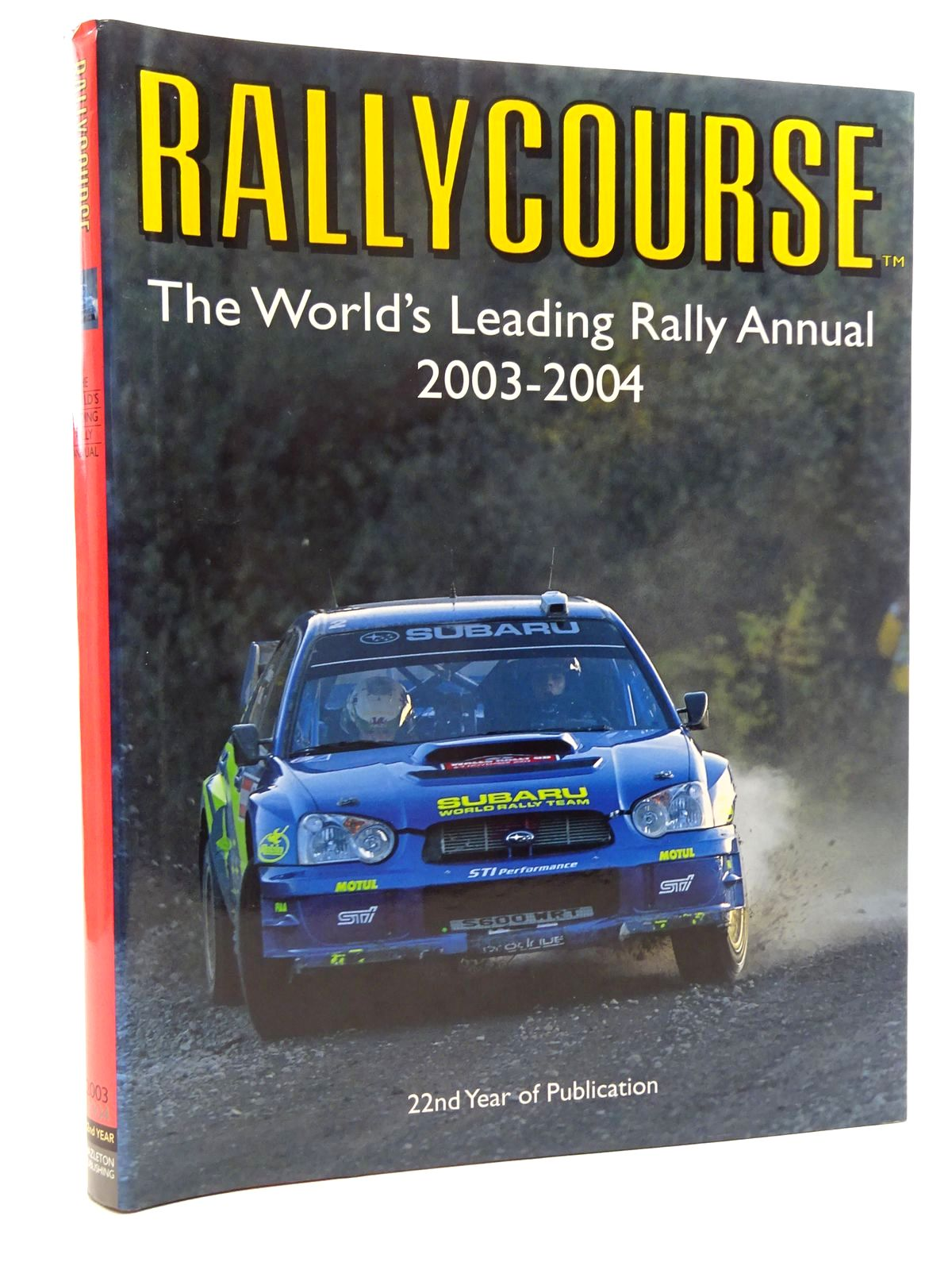 Photo of RALLYCOURSE 2003-2004 written by Williams, David published by Hazleton Publishing (STOCK CODE: 2125145)  for sale by Stella & Rose's Books