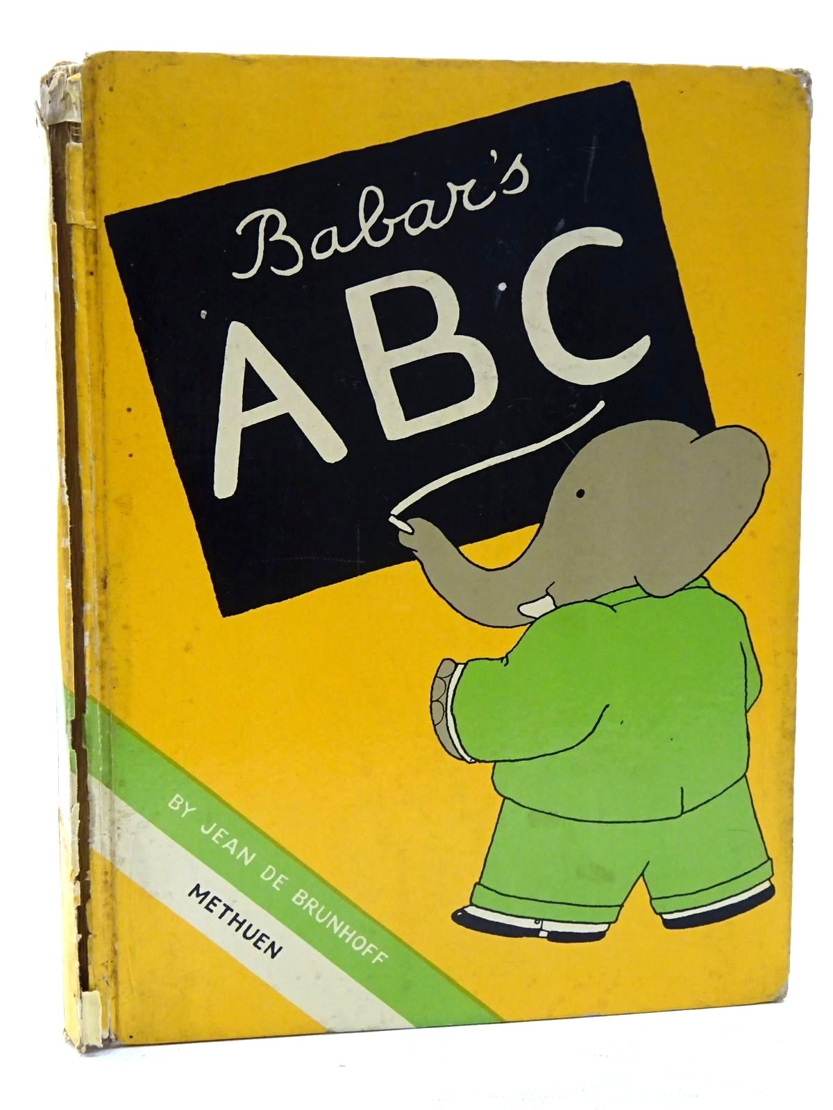 Photo of BABAR'S ABC written by De Brunhoff, Jean illustrated by De Brunhoff, Jean published by Methuen & Co. Ltd. (STOCK CODE: 2125175)  for sale by Stella & Rose's Books