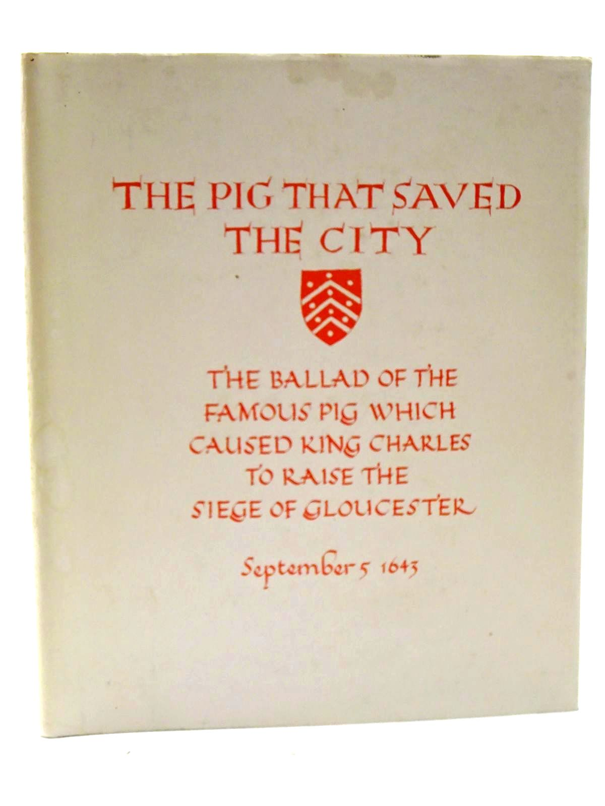 Photo of THE PIG THAT SAVED THE CITY written by Taylor, H.Y.J. illustrated by Littleton, Noreen published by Miss N. Littleton (STOCK CODE: 2125176)  for sale by Stella & Rose's Books