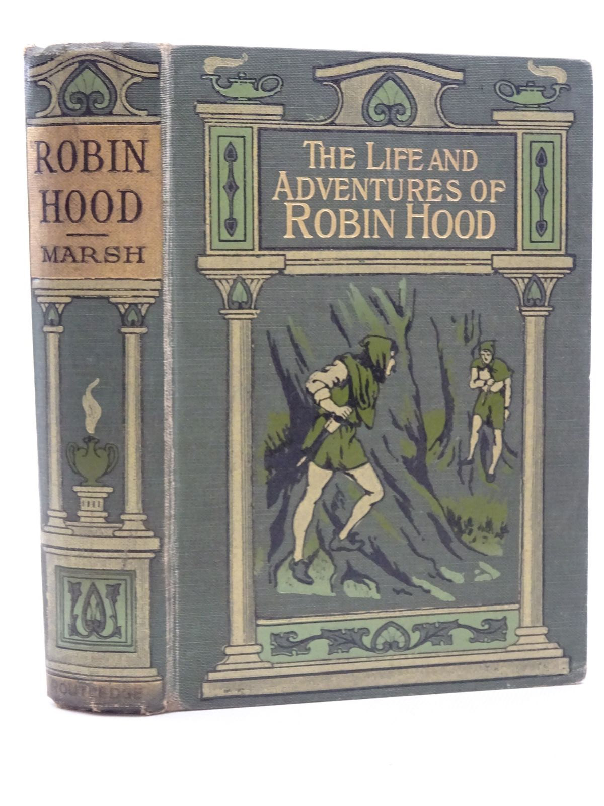 Photo of THE LIFE AND ADVENTURES OF ROBIN HOOD written by Marsh, John B. published by George Routledge and Sons Limited (STOCK CODE: 2125186)  for sale by Stella & Rose's Books
