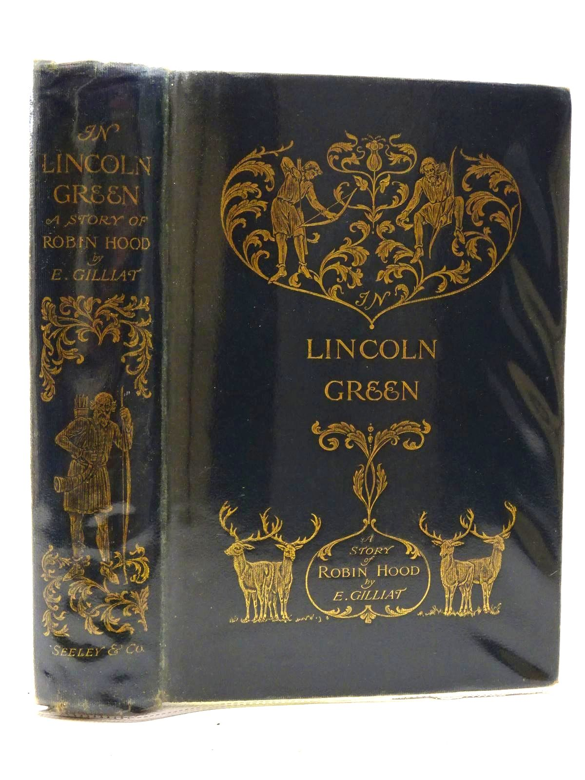 Photo of IN LINCOLN GREEN: A MERRIE TALE OF ROBIN HOOD written by Gilliat, E. illustrated by Cleaver, Ralph published by Seeley and Co. Limited (STOCK CODE: 2125195)  for sale by Stella & Rose's Books