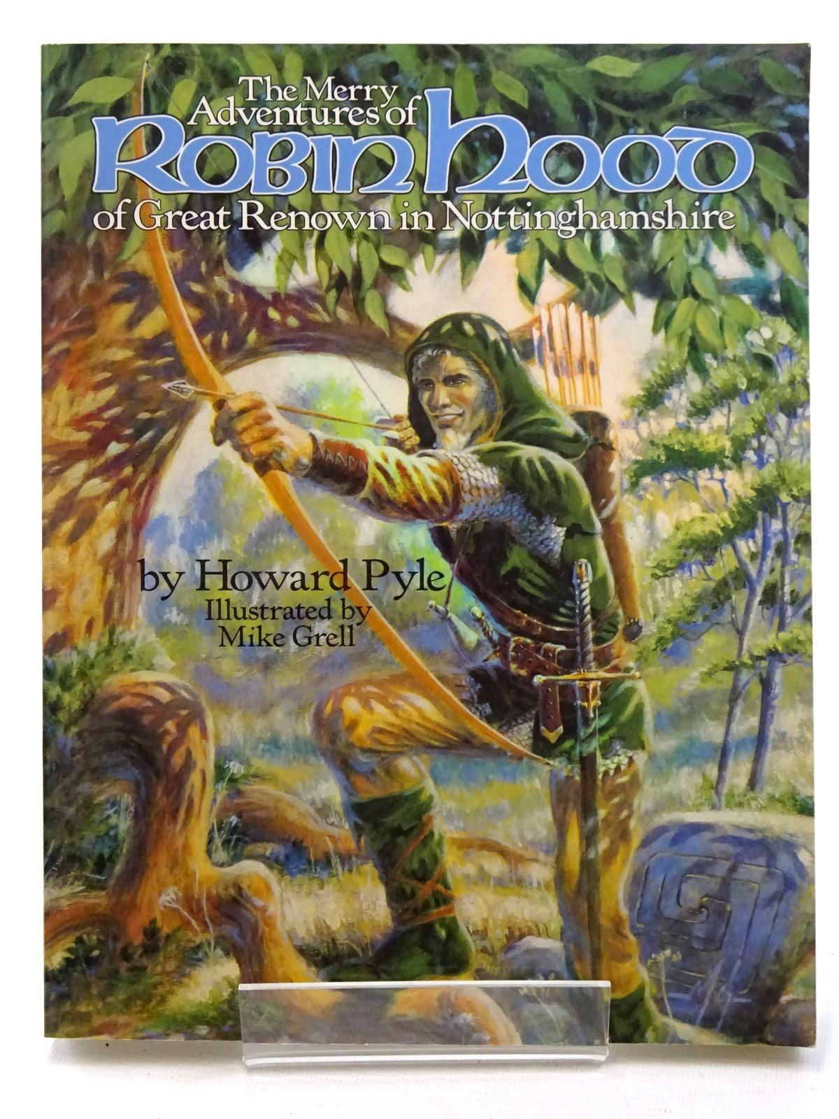 Photo of THE MERRY ADVENTURES OF ROBIN HOOD OF GREAT RENOWN IN NOTTINGHAMSHIRE written by Pyle, Howard illustrated by Grell, Mike published by The Donning Company Publishers (STOCK CODE: 2125224)  for sale by Stella & Rose's Books