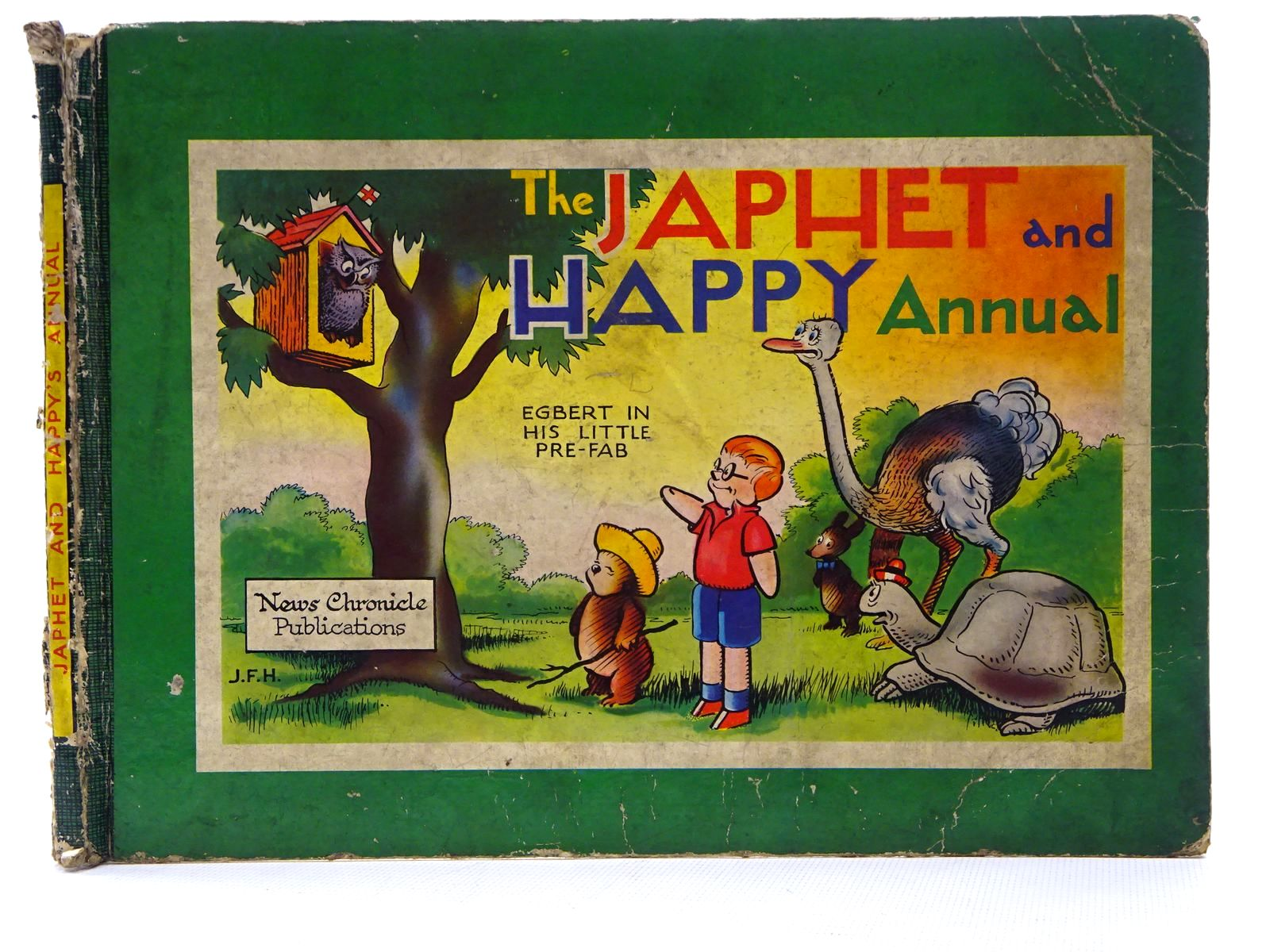 Photo of JAPHET AND HAPPY ANNUAL written by Horrabin, J.F.<br />Thomas, F.W. illustrated by Horrabin, J.F. published by News Chronicle (STOCK CODE: 2125258)  for sale by Stella & Rose's Books