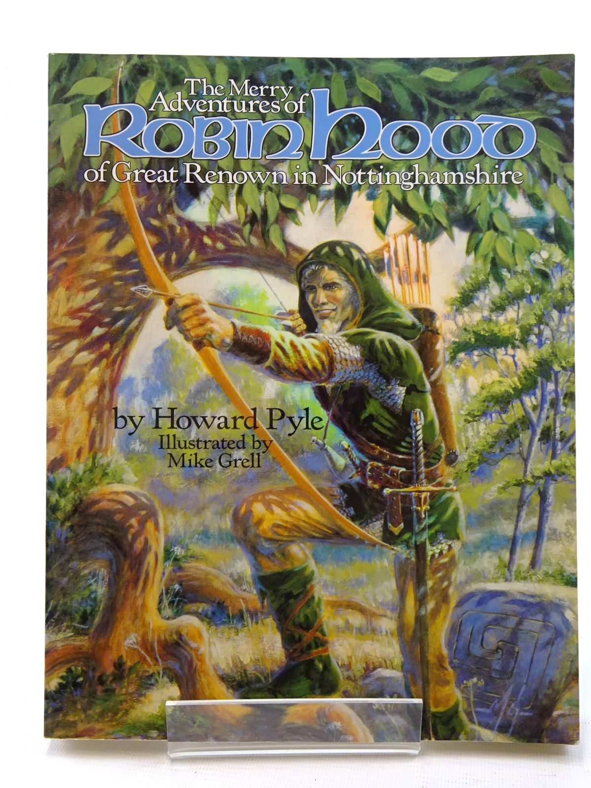 Photo of THE MERRY ADVENTURES OF ROBIN HOOD OF GREAT RENOWN IN NOTTINGHAMSHIRE written by Pyle, Howard illustrated by Grell, Mike published by The Donning Company Publishers (STOCK CODE: 2125278)  for sale by Stella & Rose's Books