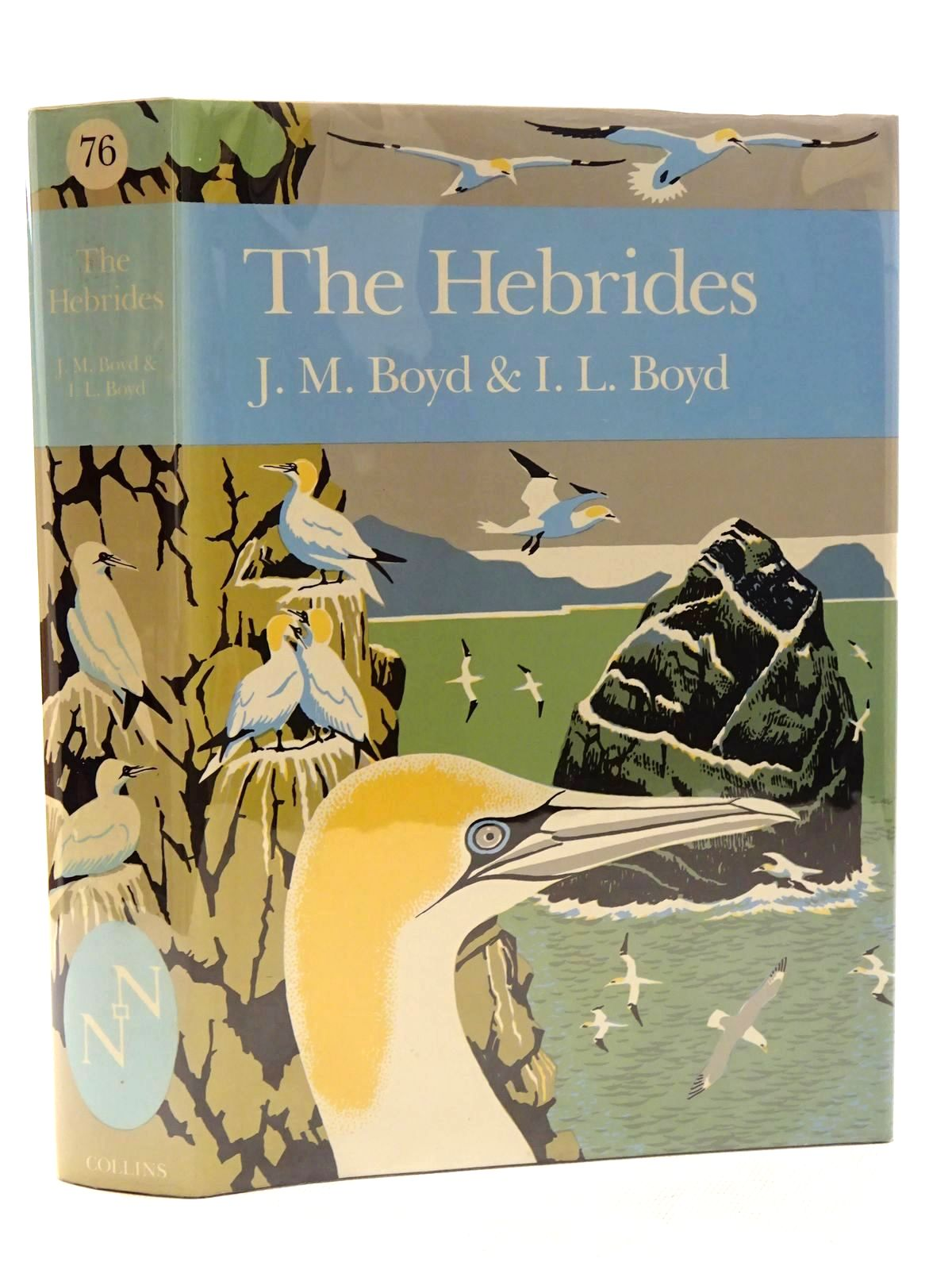 Photo of THE HEBRIDES (NN 76) written by Boyd, J. Morton<br />Boyd, I.L. published by Collins (STOCK CODE: 2125282)  for sale by Stella & Rose's Books