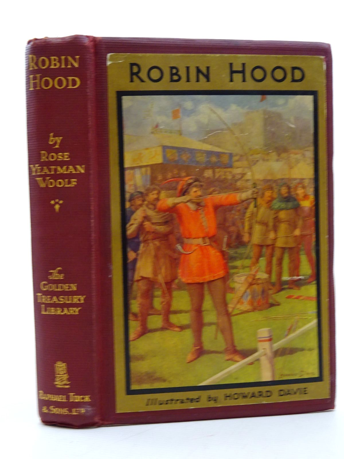 Photo of ROBIN HOOD AND HIS LIFE IN THE MERRY GREENWOOD written by Woolf, Rose Yeatman illustrated by Davie, Howard published by Raphael Tuck & Sons (STOCK CODE: 2125324)  for sale by Stella & Rose's Books