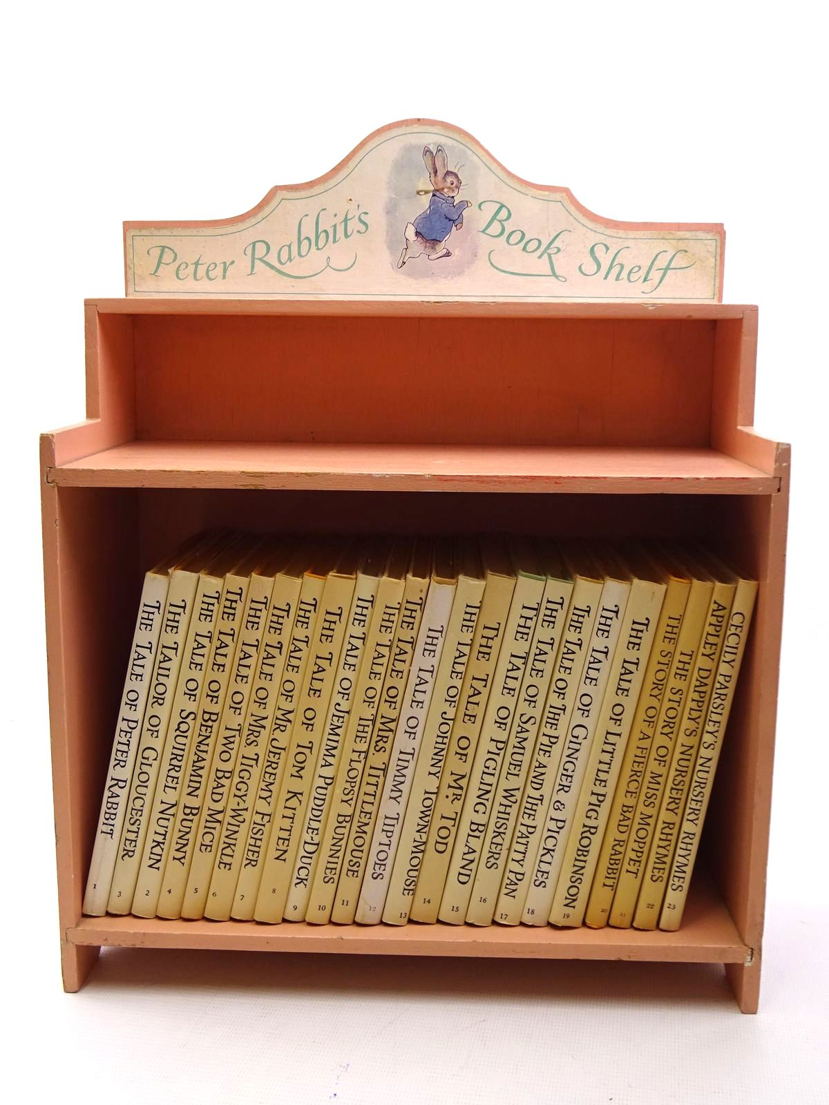 Photo of THE WORLD OF PETER RABBIT (COMPLETE SET OF THE TALES WITH BOOKSHELF) written by Potter, Beatrix illustrated by Potter, Beatrix published by Frederick Warne & Co Ltd. (STOCK CODE: 2125362)  for sale by Stella & Rose's Books