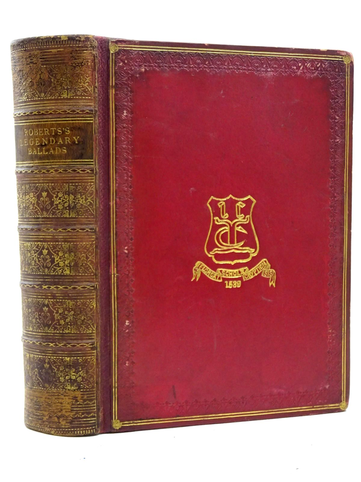 Photo of THE LEGENDARY BALLADS OF ENGLAND AND SCOTLAND written by Roberts, John S. published by Frederick Warne & Co. (STOCK CODE: 2125368)  for sale by Stella & Rose's Books