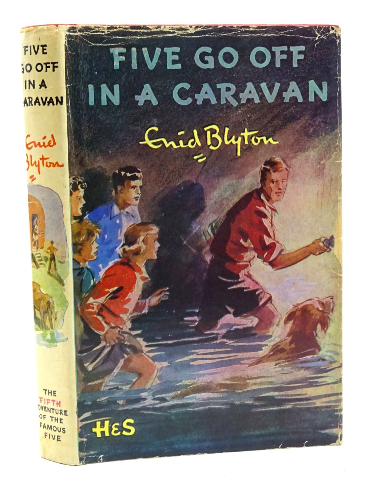 Photo of FIVE GO OFF IN A CARAVAN written by Blyton, Enid illustrated by Soper, Eileen published by Hodder & Stoughton (STOCK CODE: 2125372)  for sale by Stella & Rose's Books