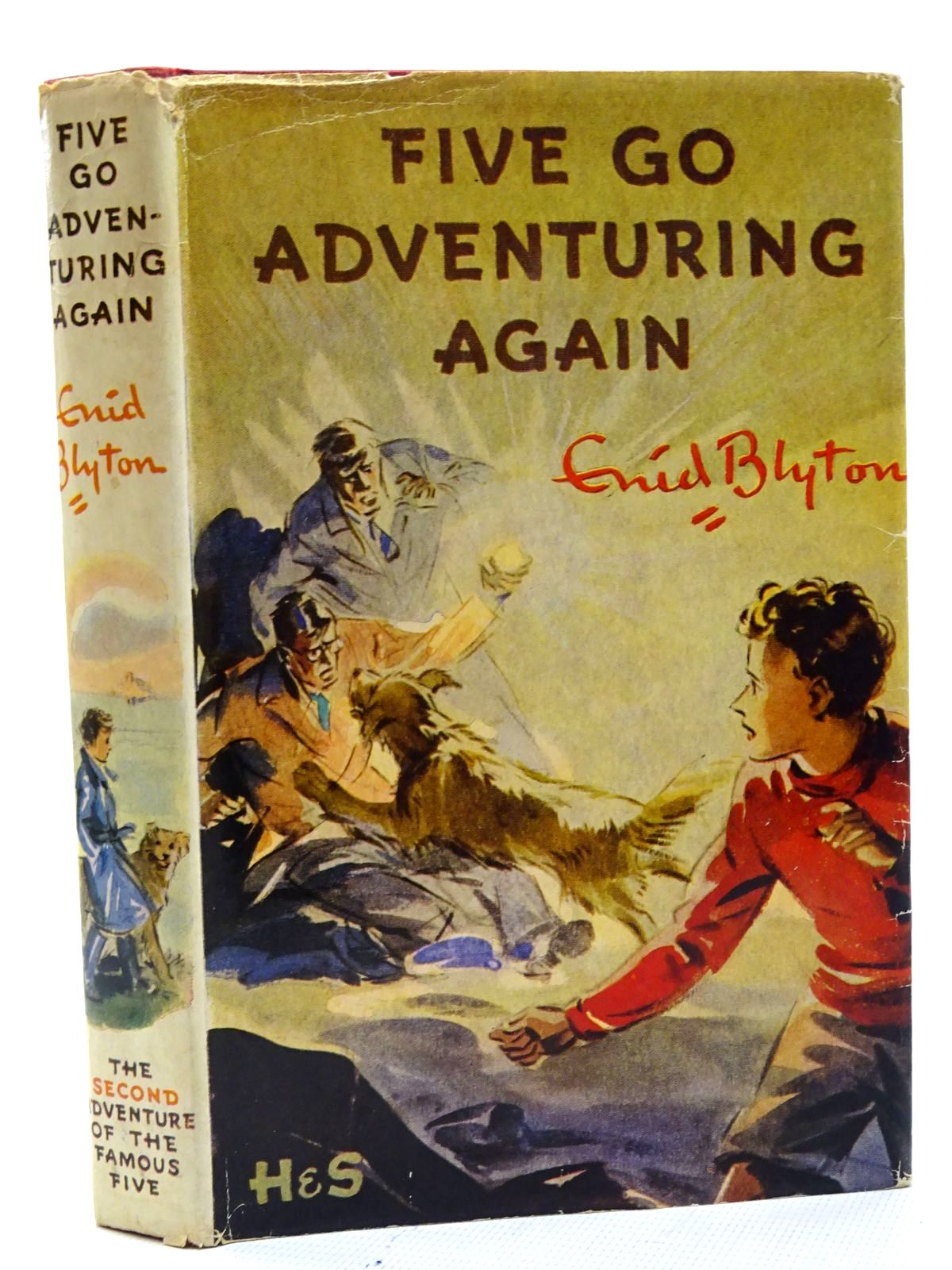 Photo of FIVE GO ADVENTURING AGAIN written by Blyton, Enid illustrated by Soper, Eileen published by Hodder & Stoughton (STOCK CODE: 2125396)  for sale by Stella & Rose's Books