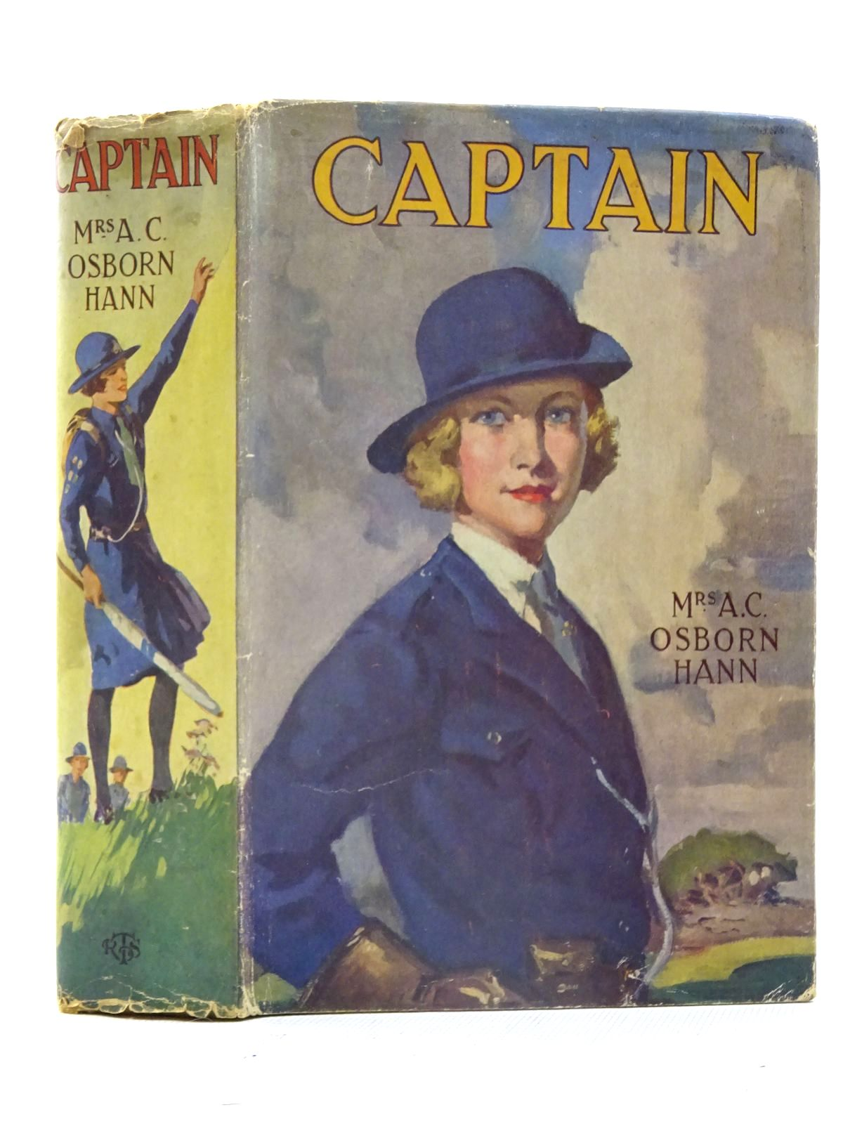 Photo of CAPTAIN written by Hann, Mrs. A.C. Osborn published by The R.T.S. Office (STOCK CODE: 2125451)  for sale by Stella & Rose's Books
