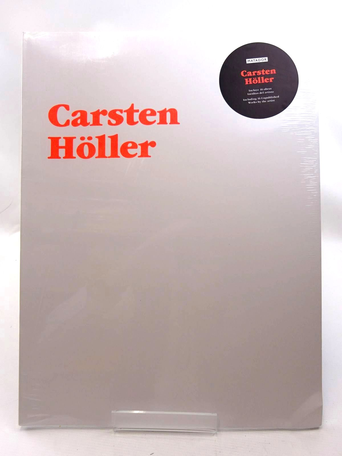 Photo of CARSTEN HOLLER: ARTIST'S PORTFOLIO illustrated by Holler, Carsten (STOCK CODE: 2125483)  for sale by Stella & Rose's Books
