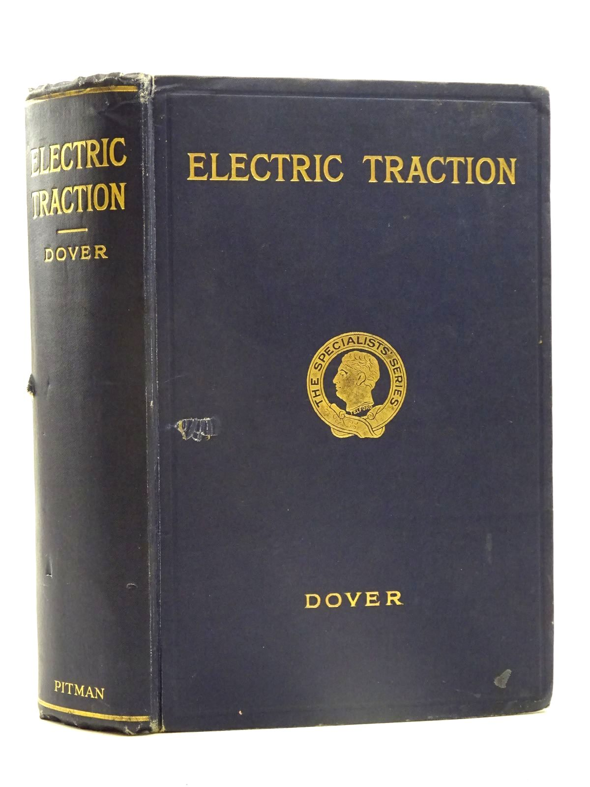 Photo of ELECTRIC TRACTION written by Dover, A.T. published by Sir Isaac Pitman & Sons Ltd. (STOCK CODE: 2125508)  for sale by Stella & Rose's Books