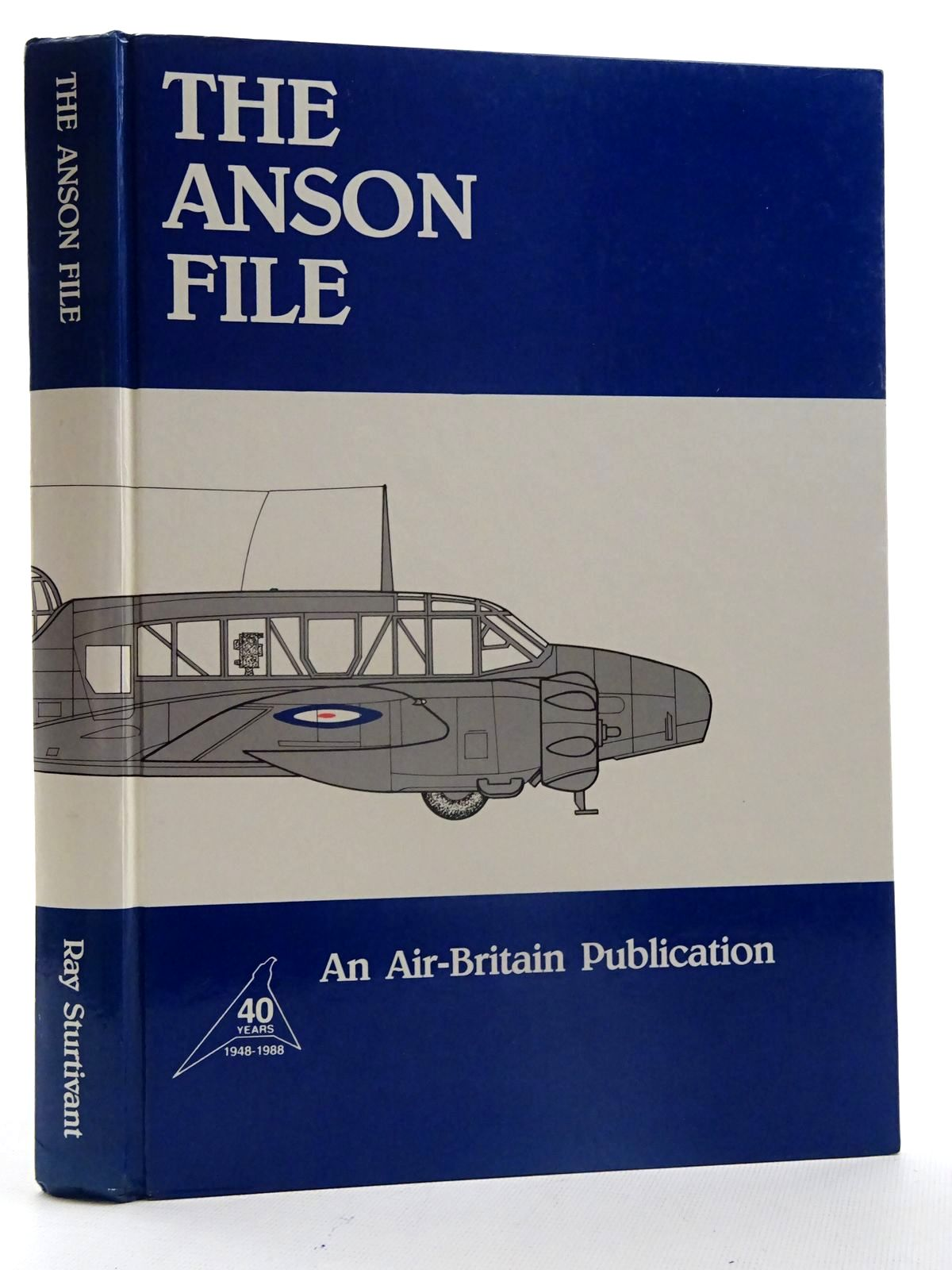 Photo of THE ANSON FILE written by Sturtivant, Ray published by Air-Britain (historians) Ltd. (STOCK CODE: 2125543)  for sale by Stella & Rose's Books