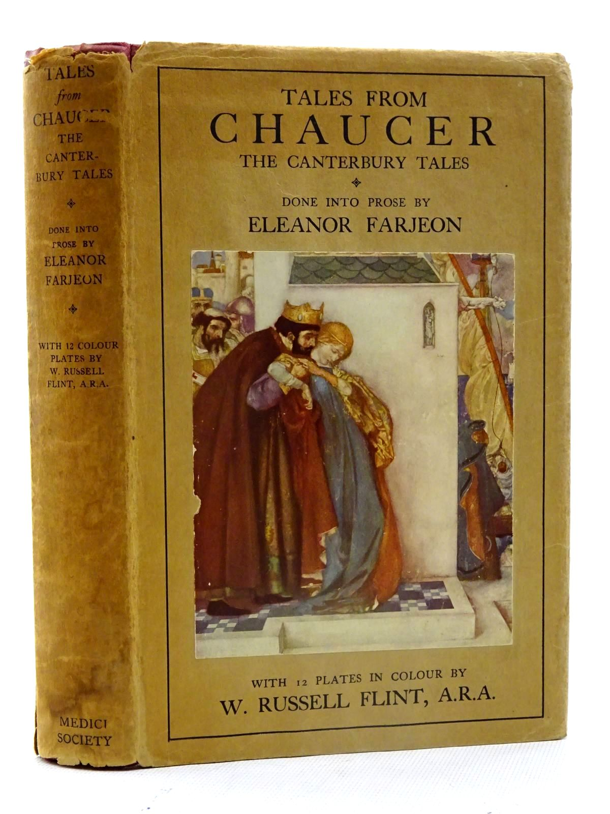 Photo of TALES FROM CHAUCER written by Farjeon, Eleanor illustrated by Flint, William Russell published by The Medici Society (STOCK CODE: 2125566)  for sale by Stella & Rose's Books