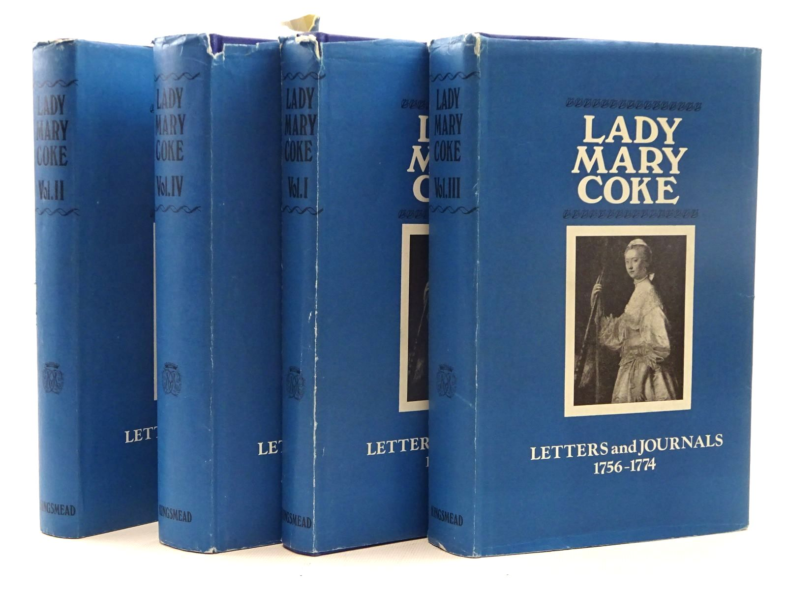 Photo of THE LETTERS AND JOURNALS OF LADY MARY COKE 4 VOLUMES written by Coke, Mary published by Kingsmead Reprints (STOCK CODE: 2125569)  for sale by Stella & Rose's Books