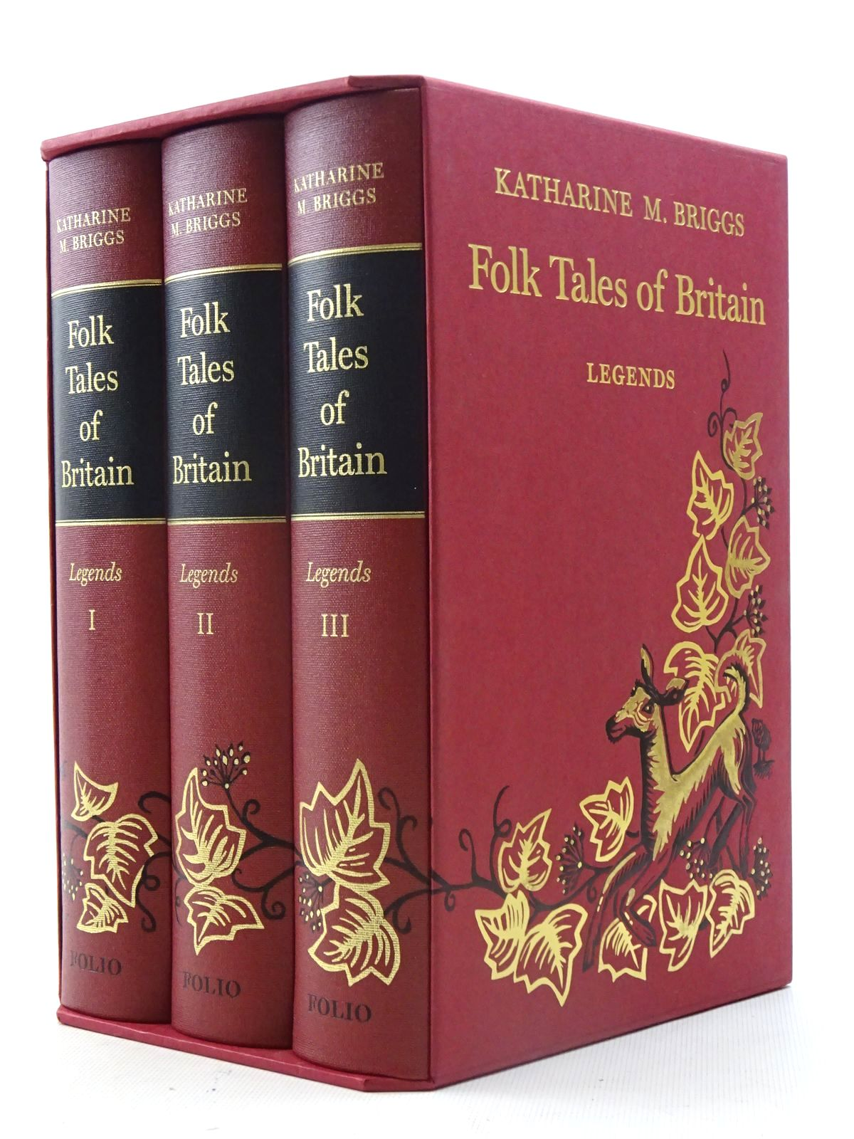 Folk Tales Of Britain (3 Volumes)