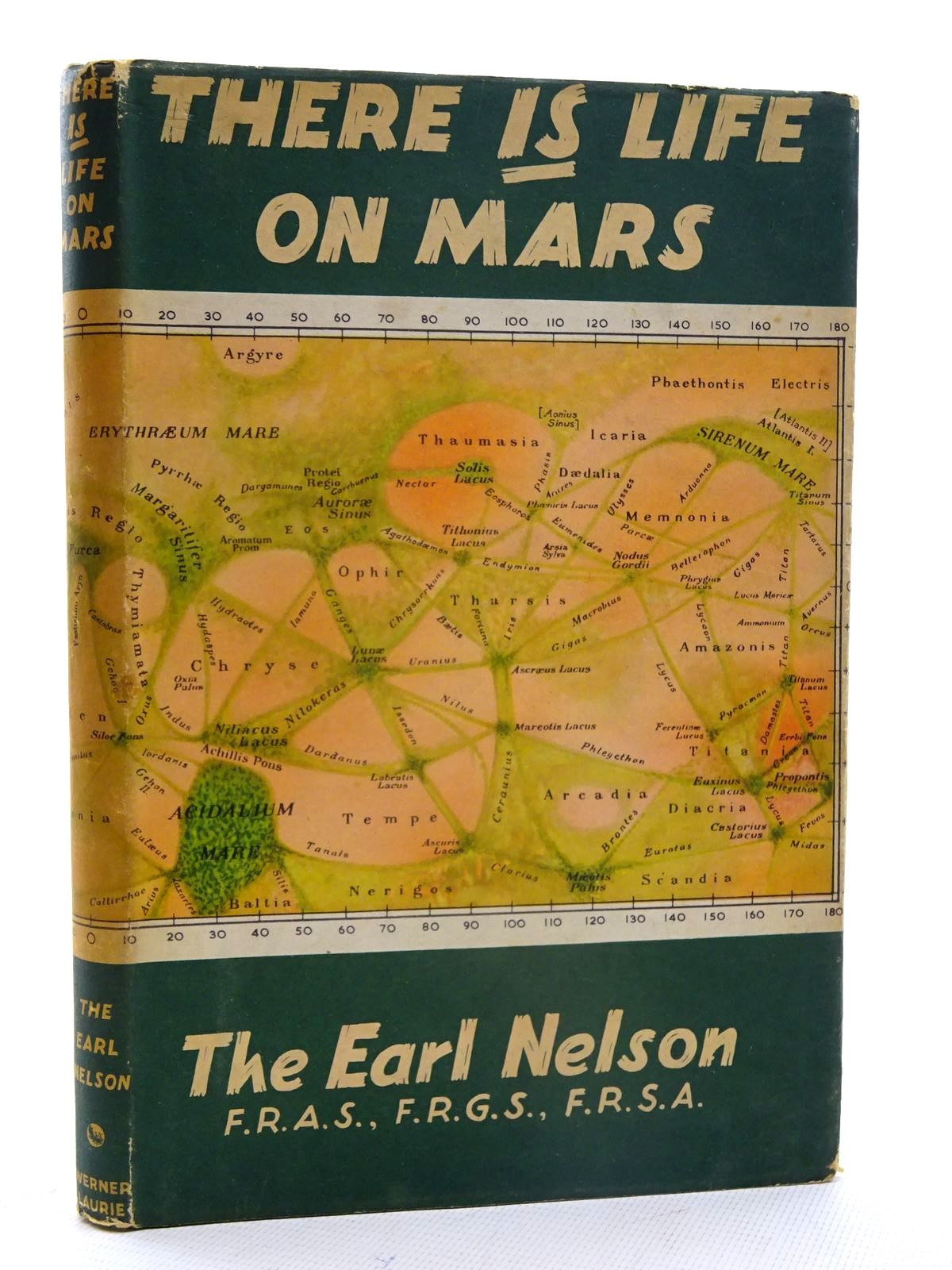 Photo of THERE IS LIFE ON MARS written by Nelson, Earl published by Werner Laurie (STOCK CODE: 2125572)  for sale by Stella & Rose's Books