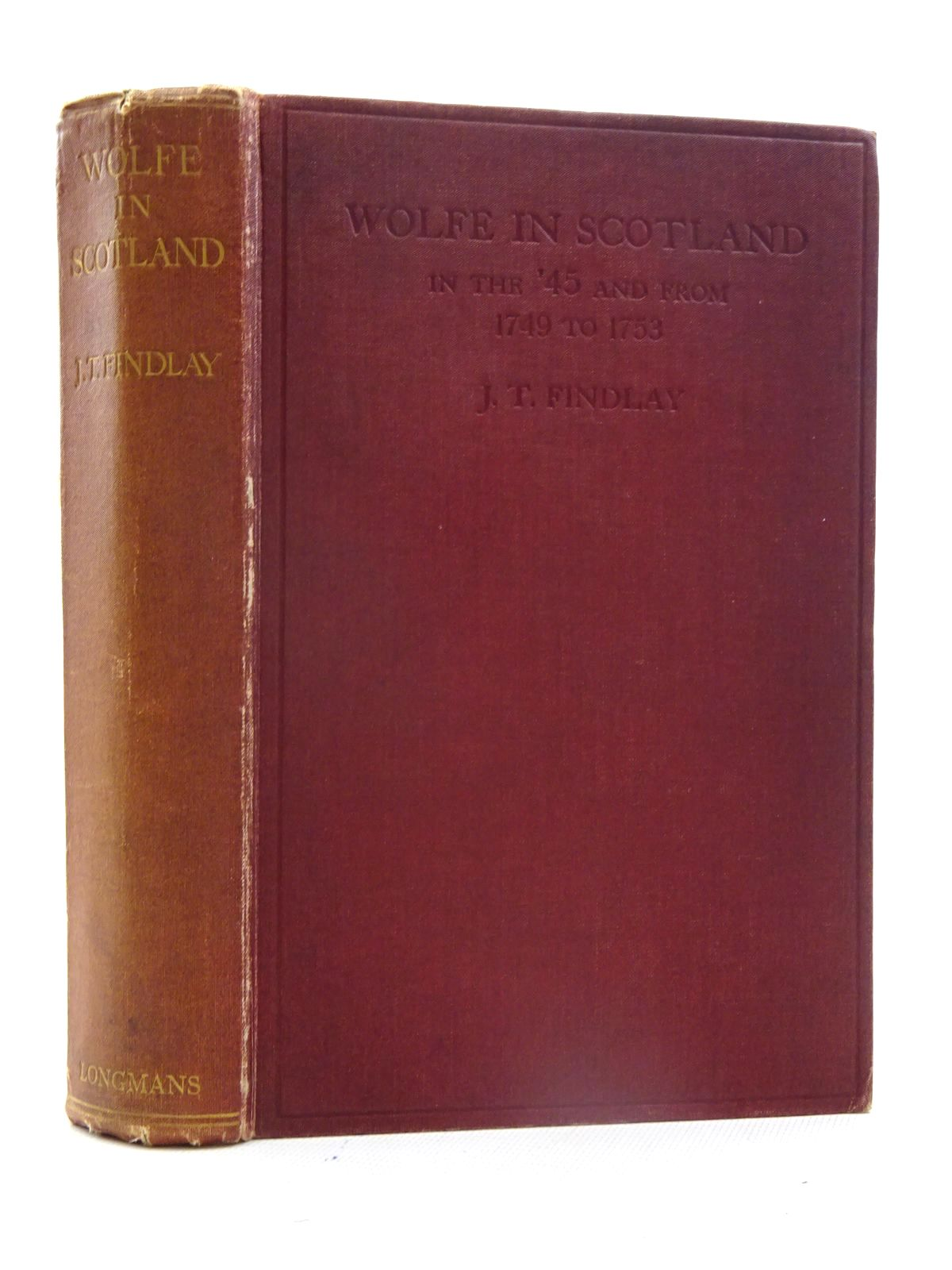 Photo of WOLFE IN SCOTLAND IN THE '45 AND FROM 1749 TO 1753 written by Findlay, J.T. published by Longmans, Green & Co. (STOCK CODE: 2125577)  for sale by Stella & Rose's Books