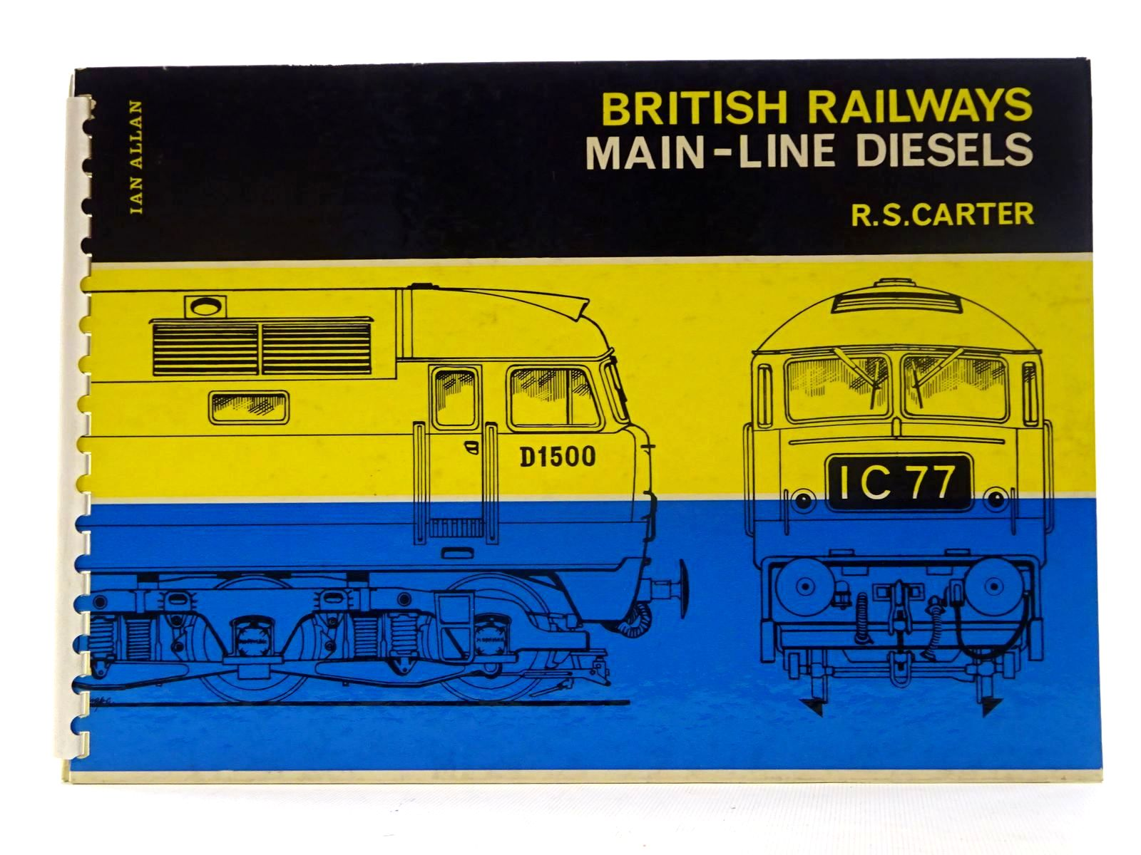 Photo of BRITISH RAILWAYS MAIN-LINE DIESELS written by Carter, R.S. published by Ian Allan (STOCK CODE: 2125636)  for sale by Stella & Rose's Books