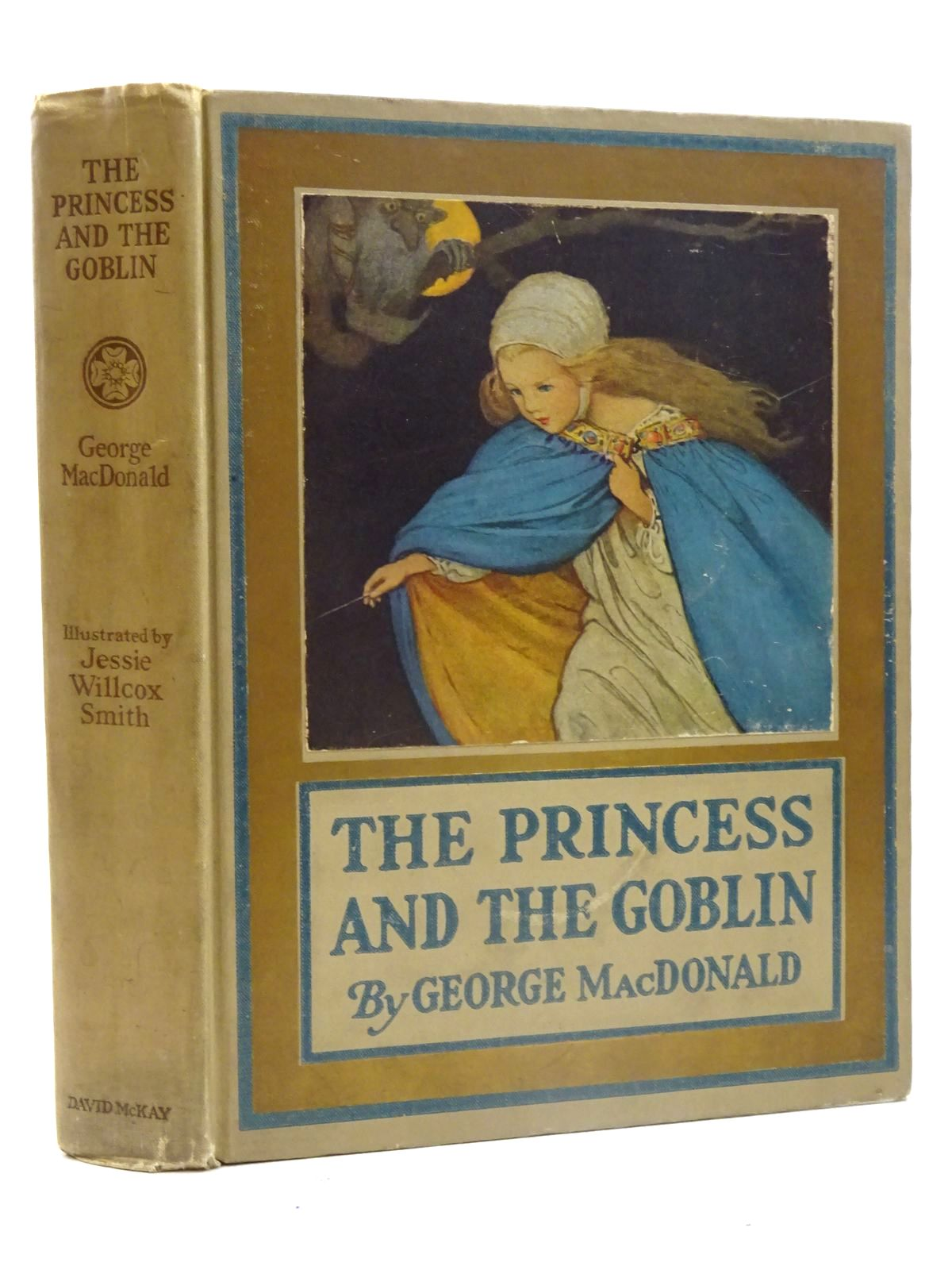 Photo of THE PRINCESS AND THE GOBLIN written by MacDonald, George illustrated by Smith, Jessie Willcox published by David McKay Company (STOCK CODE: 2125651)  for sale by Stella & Rose's Books