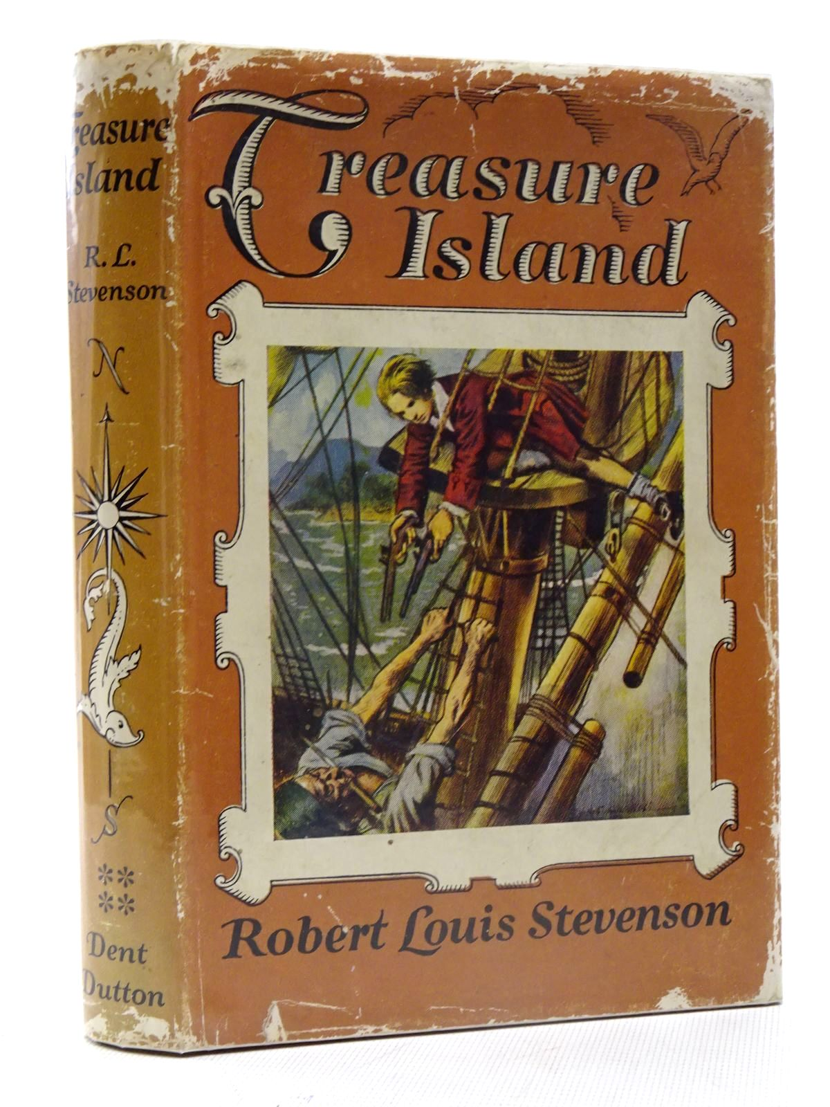 Photo of TREASURE ISLAND written by Stevenson, Robert Louis illustrated by Van Abbe, S. published by J.M. Dent & Sons Ltd. (STOCK CODE: 2125679)  for sale by Stella & Rose's Books