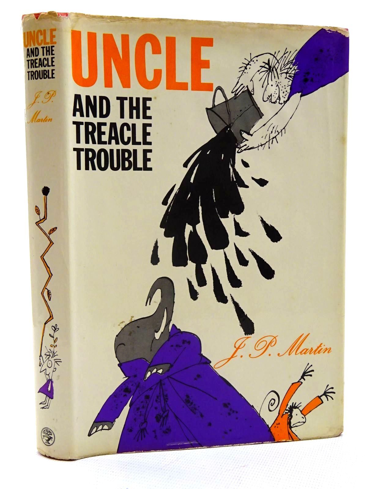 Photo of UNCLE AND THE TREACLE TROUBLE written by Martin, J.P. illustrated by Blake, Quentin published by Jonathan Cape (STOCK CODE: 2125760)  for sale by Stella & Rose's Books