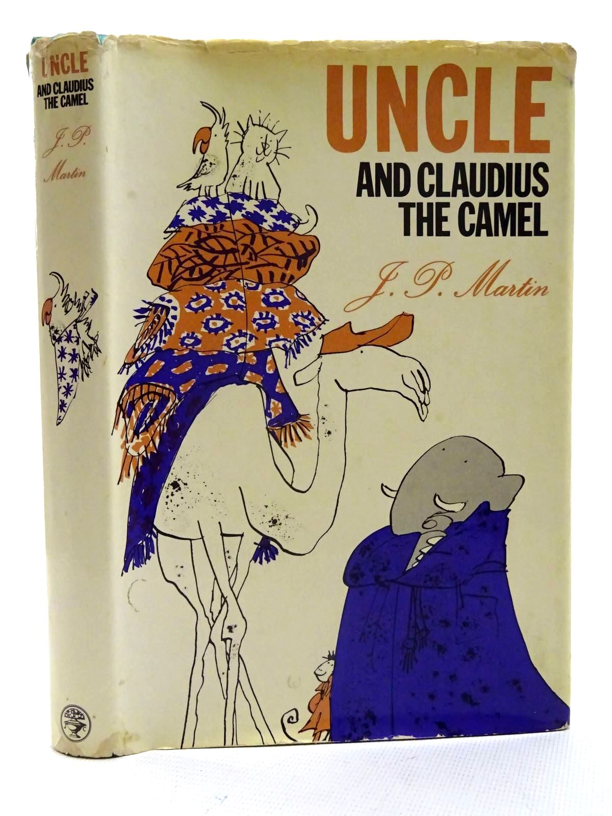 Photo of UNCLE AND CLAUDIUS THE CAMEL written by Martin, J.P. illustrated by Blake, Quentin published by Jonathan Cape (STOCK CODE: 2125761)  for sale by Stella & Rose's Books