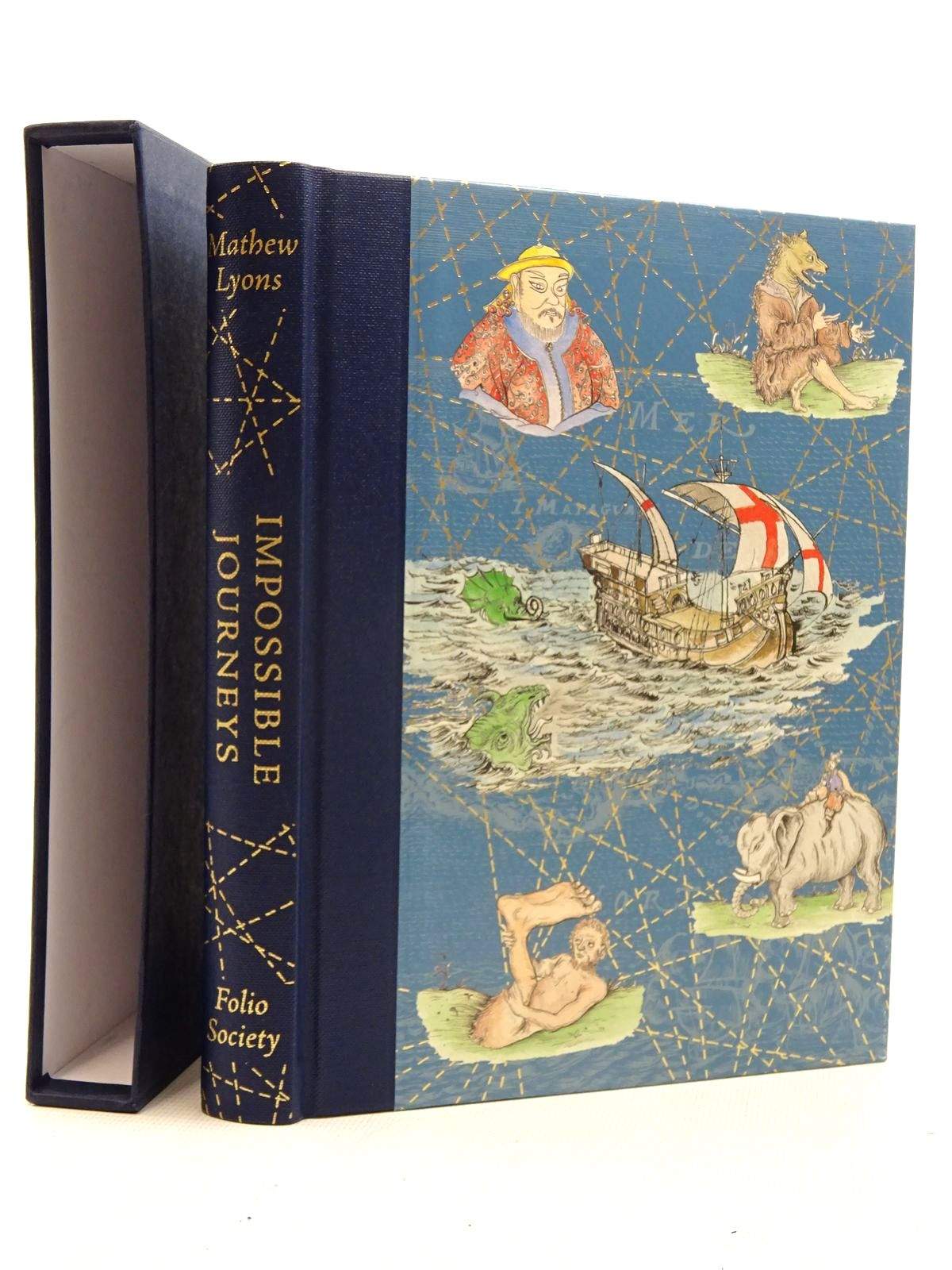 Photo of IMPOSSIBLE JOURNEYS written by Lyons, Mathew published by Folio Society (STOCK CODE: 2125774)  for sale by Stella & Rose's Books