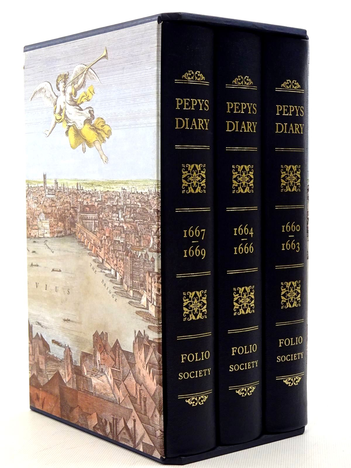 Photo of PEPYS'S DIARY (3 VOLUMES) written by Pepys, Samuel<br />Latham, Robert published by Folio Society (STOCK CODE: 2125785)  for sale by Stella & Rose's Books