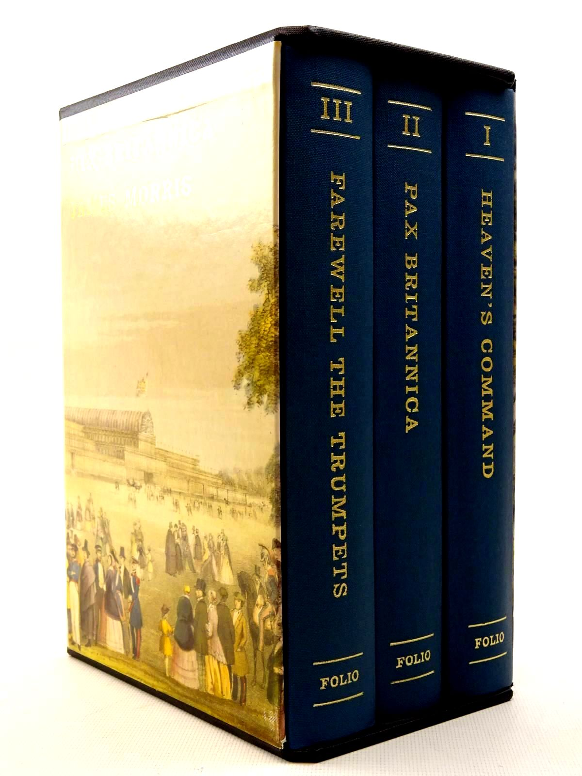 Photo of PAX BRITANNICA (3 VOLUMES) written by Morris, James published by Folio Society (STOCK CODE: 2125795)  for sale by Stella & Rose's Books