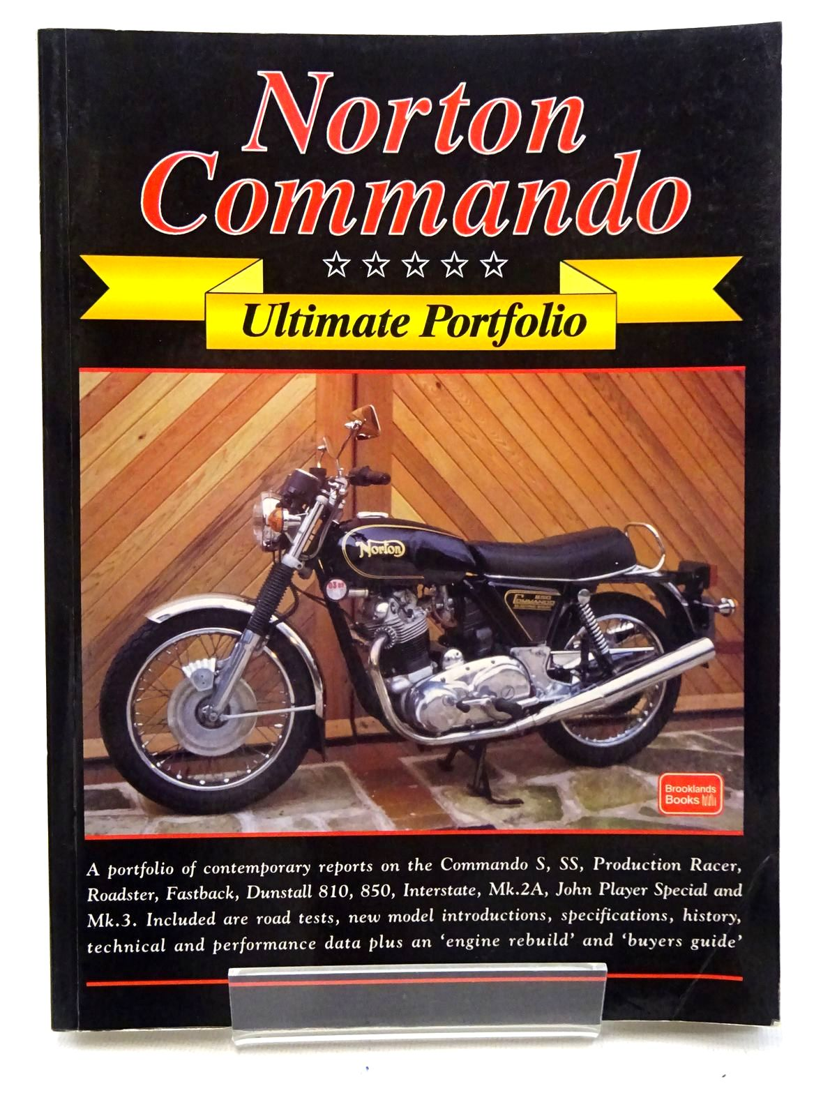 Photo of NORTON COMMANDO ULTIMATE PORTFOLIO written by Clarke, R.M.<br />Clew, Jeff published by Brooklands Books (STOCK CODE: 2125910)  for sale by Stella & Rose's Books