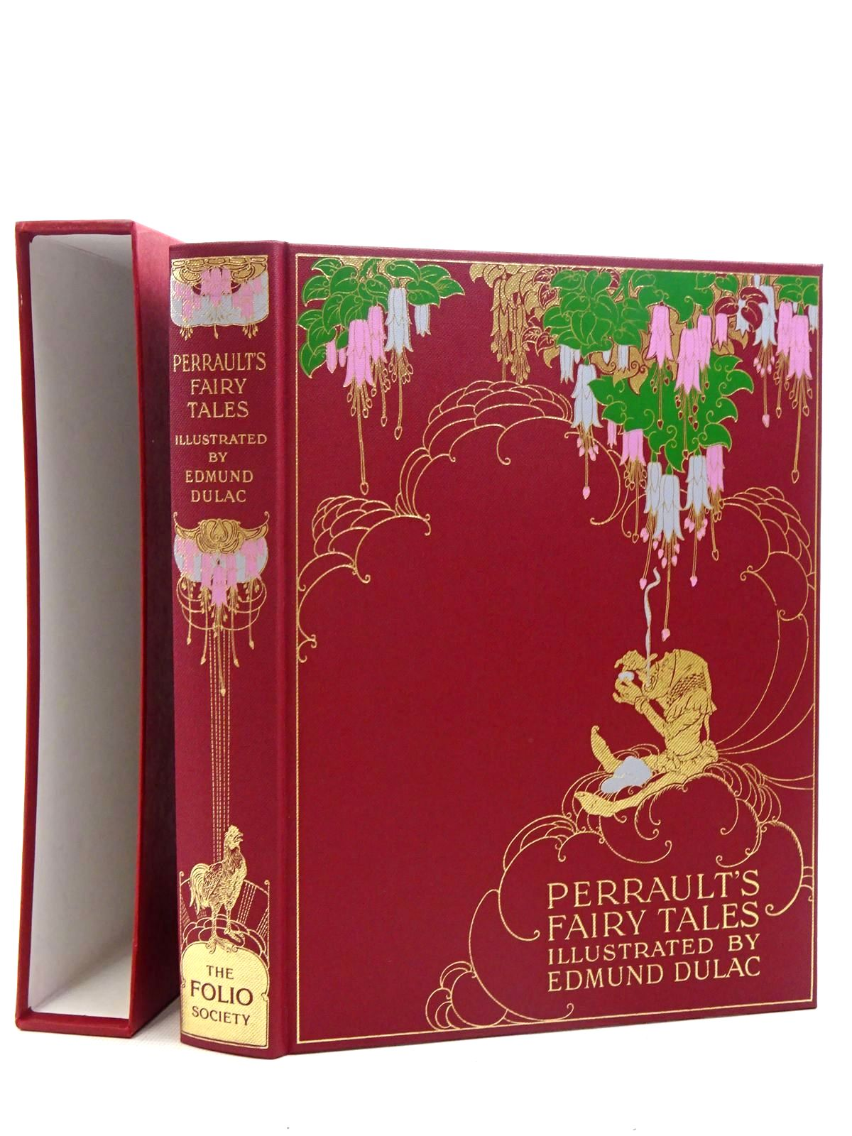 Photo of THE FAIRY TALES OF CHARLES PERRAULT written by Perrault, Charles illustrated by Dulac, Edmund published by Folio Society (STOCK CODE: 2125988)  for sale by Stella & Rose's Books