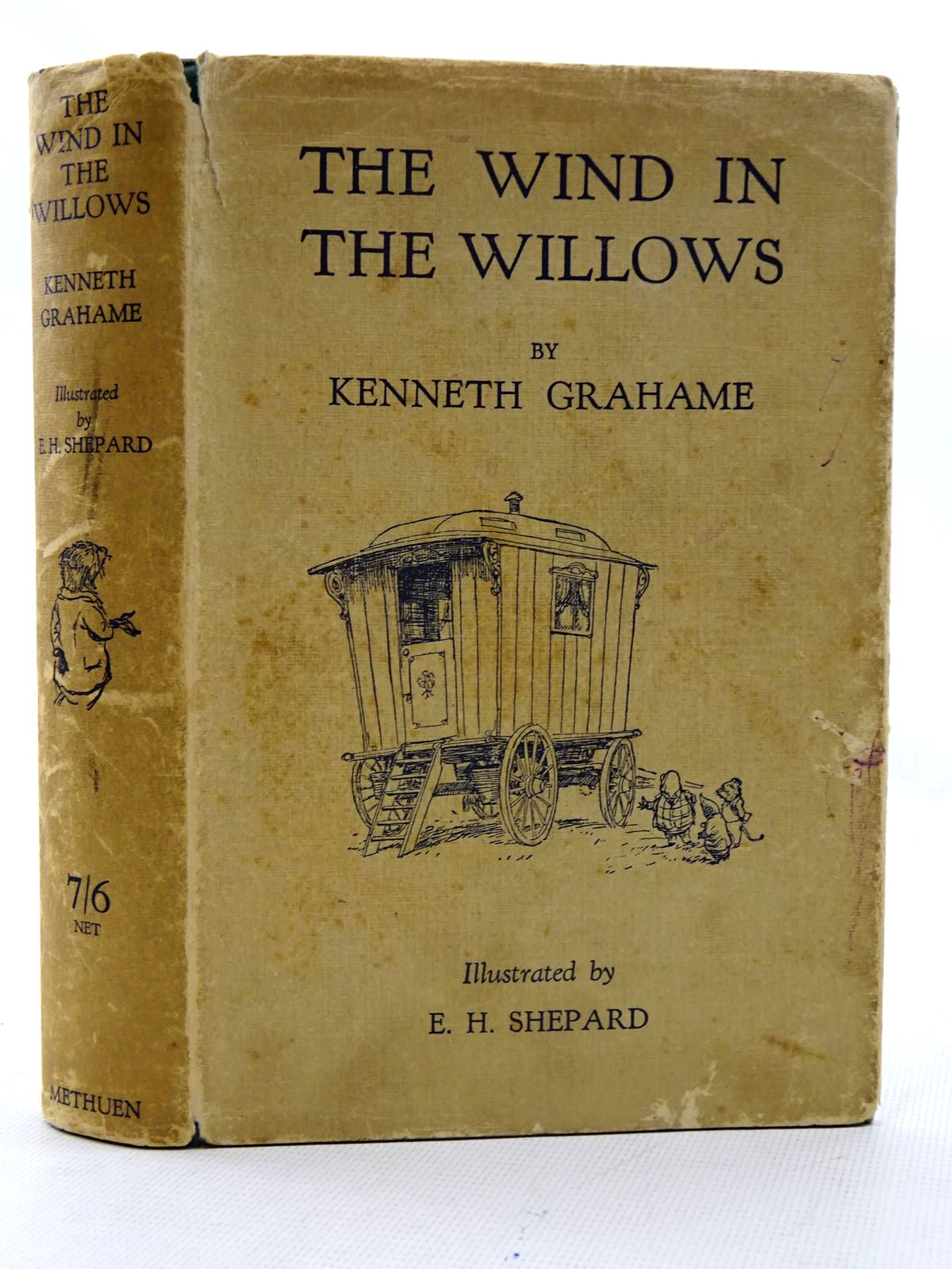 Photo of THE WIND IN THE WILLOWS written by Grahame, Kenneth illustrated by Shepard, E.H. published by Methuen & Co. Ltd. (STOCK CODE: 2125997)  for sale by Stella & Rose's Books