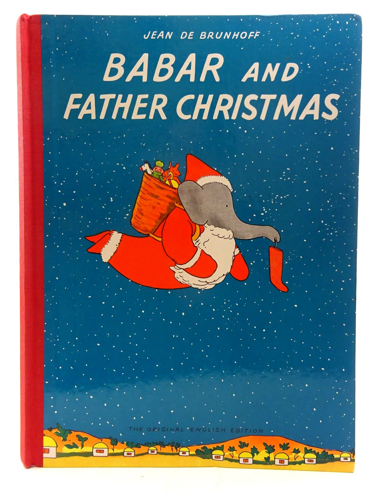 Photo of BABAR AND FATHER CHRISTMAS written by De Brunhoff, Jean published by Methuen Children's Books (STOCK CODE: 2126030)  for sale by Stella & Rose's Books
