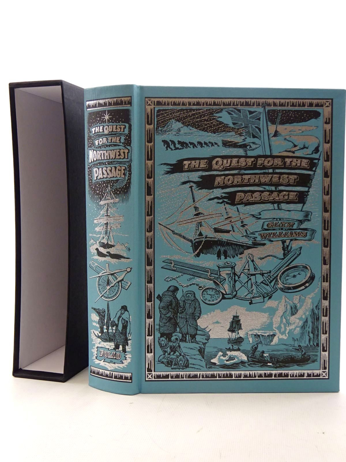 Photo of THE QUEST FOR THE NORTHWEST PASSAGE written by Williams, Glyn published by Folio Society (STOCK CODE: 2126044)  for sale by Stella & Rose's Books