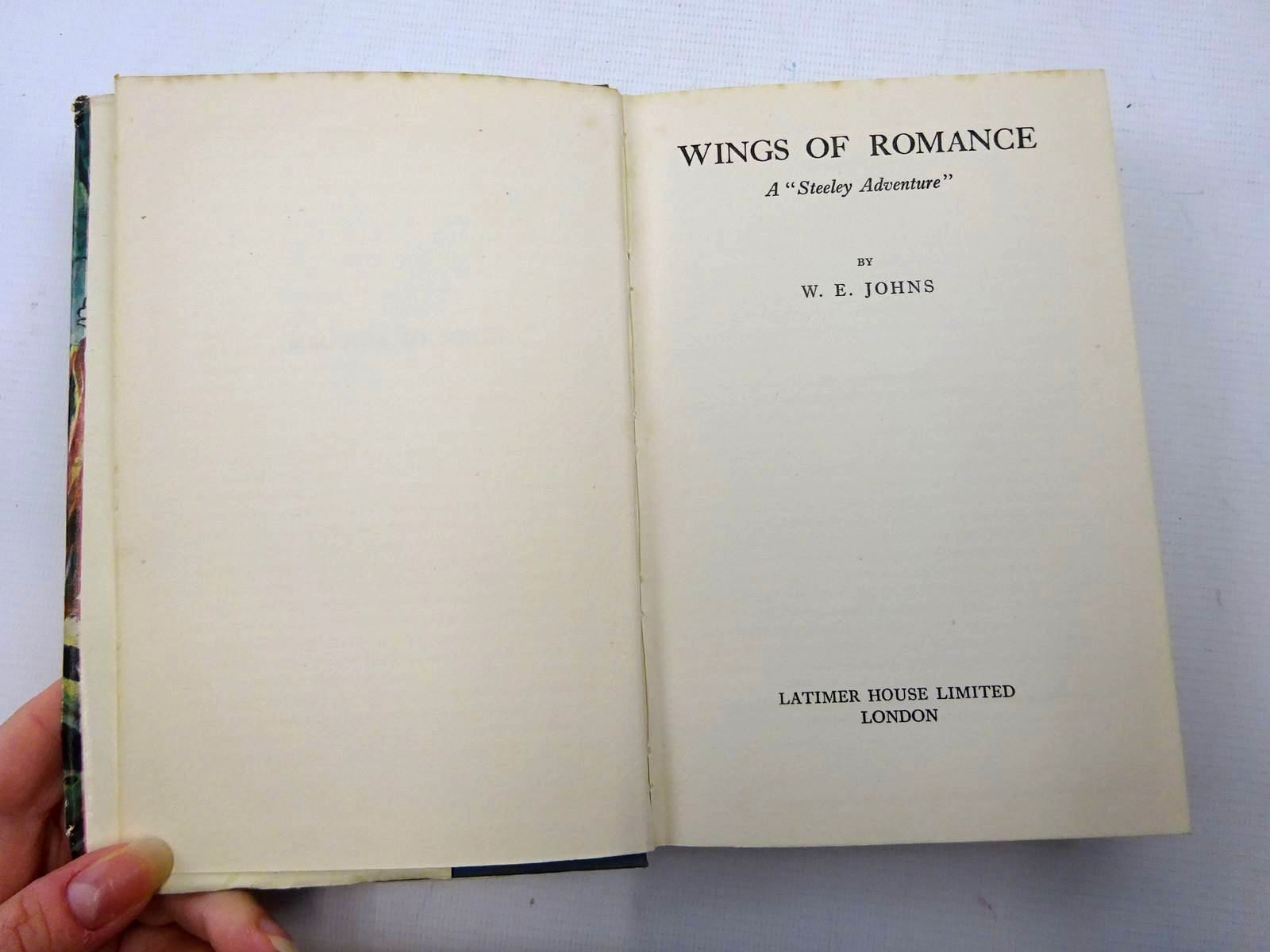 Photo of WINGS OF ROMANCE written by Johns, W.E. published by Latimer House (STOCK CODE: 2126052)  for sale by Stella & Rose's Books